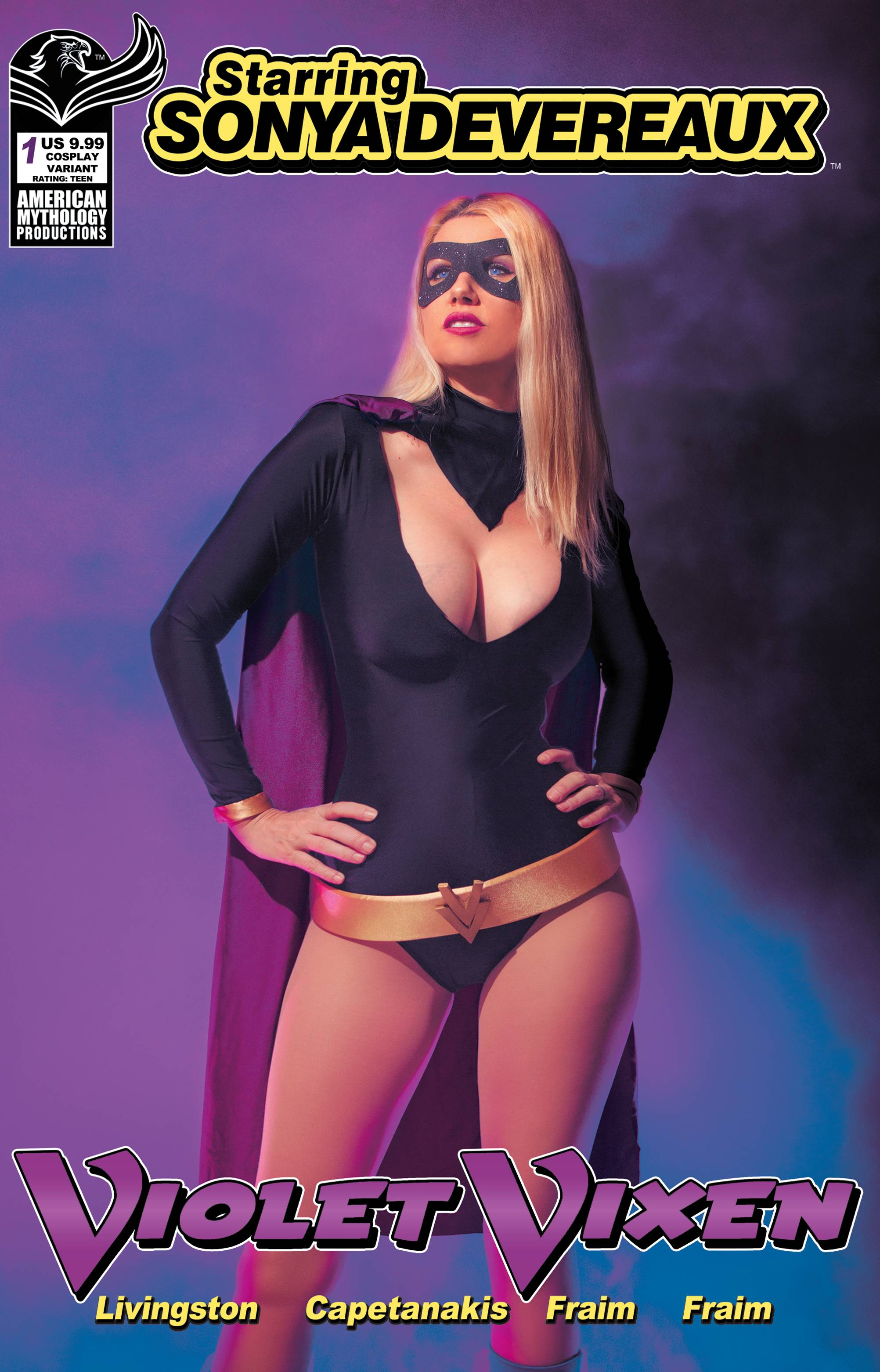 STARRING SONYA DEVEREAUX VIOLET VIXEN CVR C COSPLAY (MR)