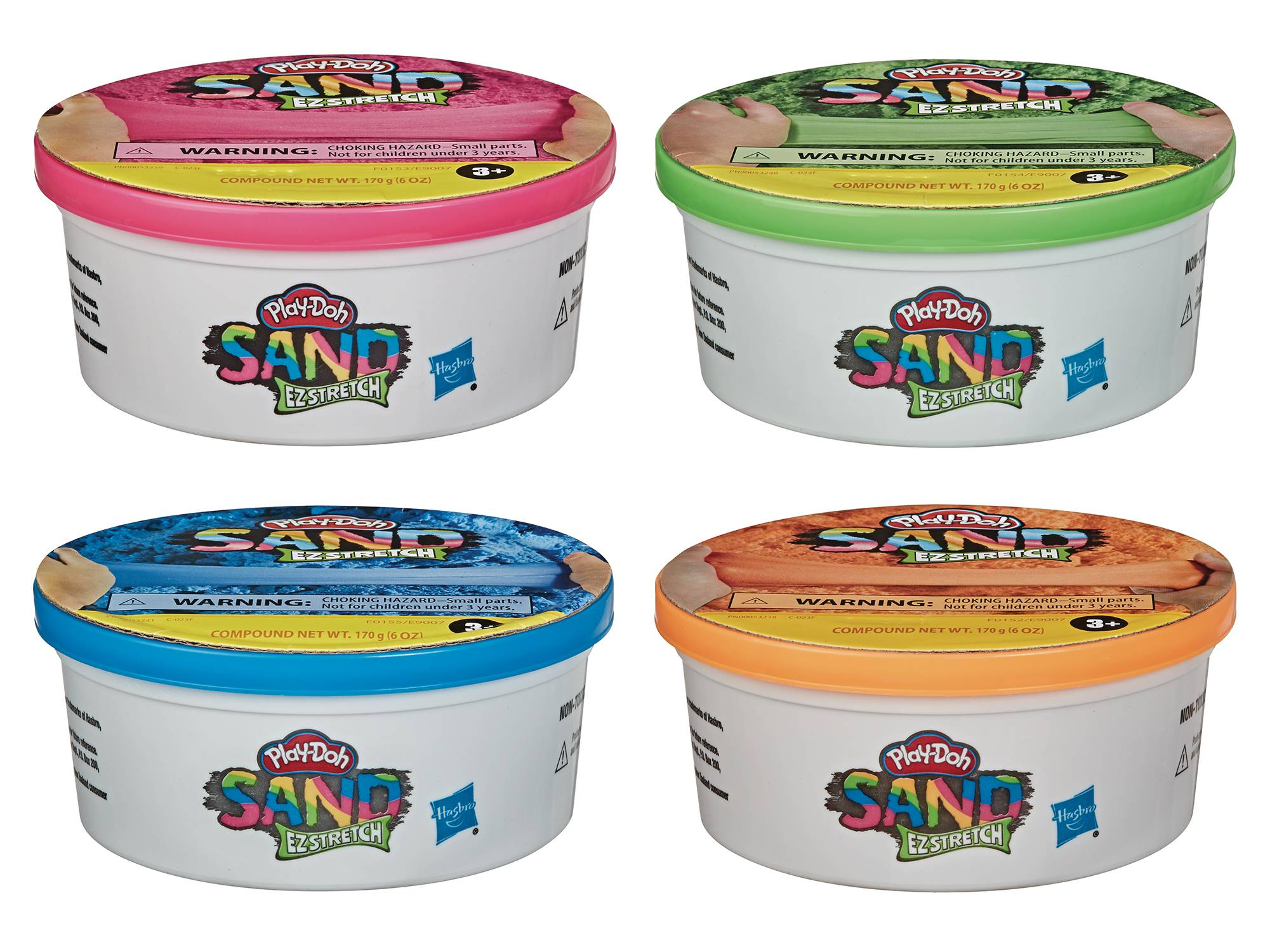 PLAY-DOH SAND EZ STRETCH SINGLE CAN ASST 202001