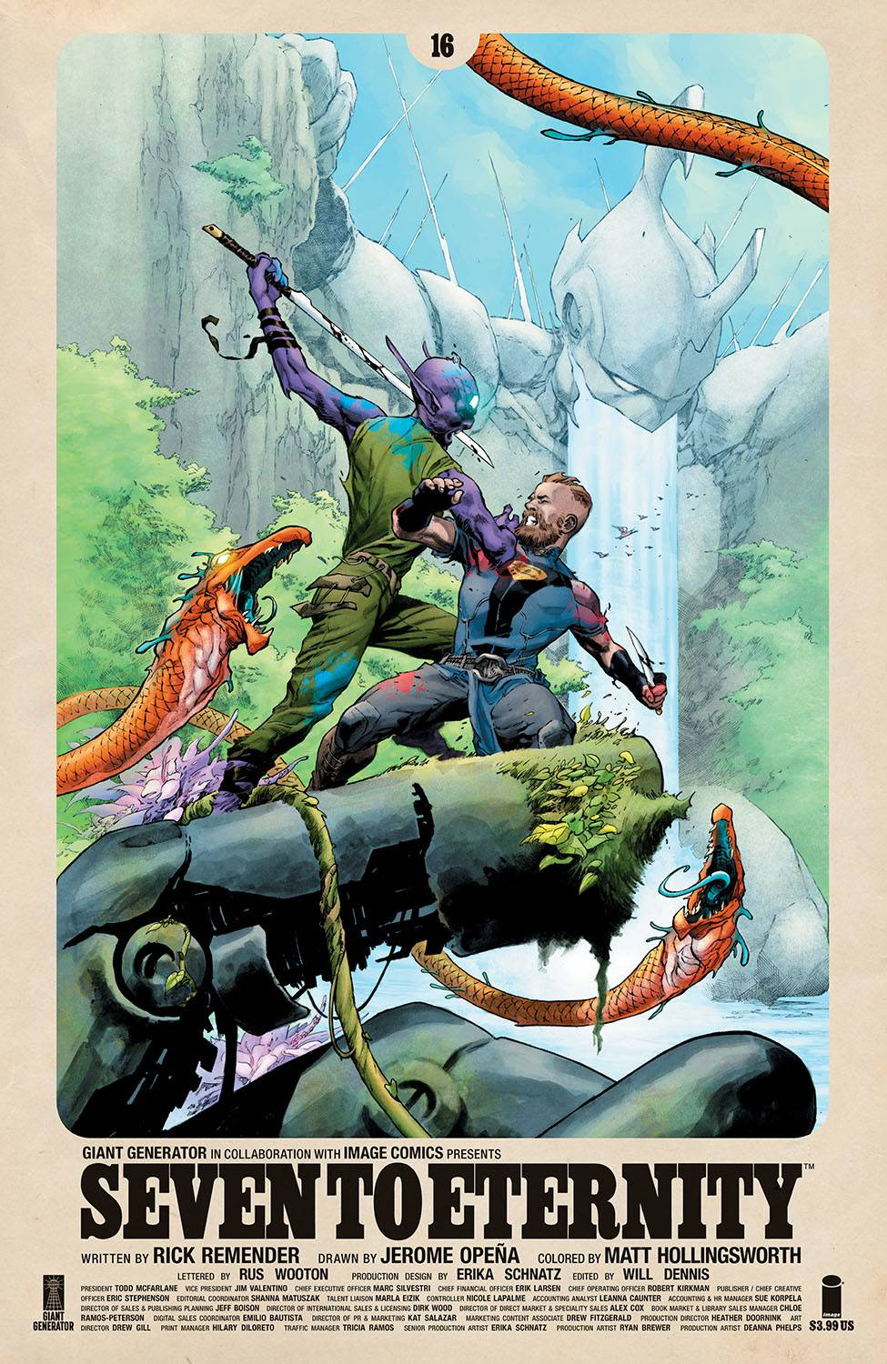 SEVEN TO ETERNITY #16 CVR A OPENA & HOLLINGSWORTH