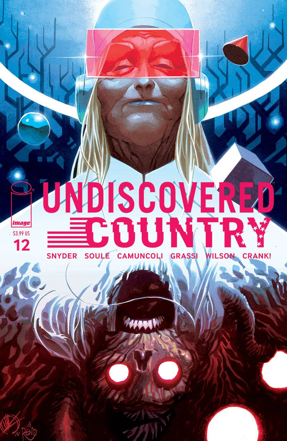 UNDISCOVERED COUNTRY #12 CVR B SCALERA (O/A) (MR)