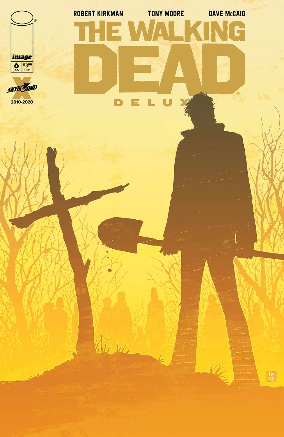 WALKING DEAD DLX #6 CVR B MOORE & MCCAIG (MR)