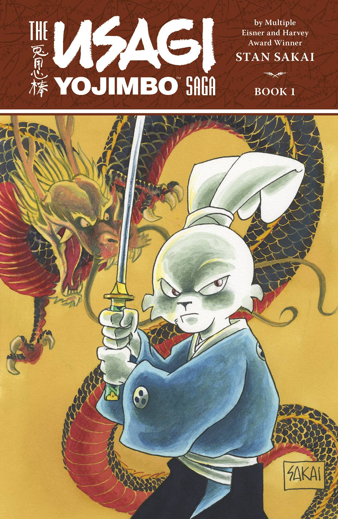 USAGI YOJIMBO SAGA TP (2ND ED) VOL 01