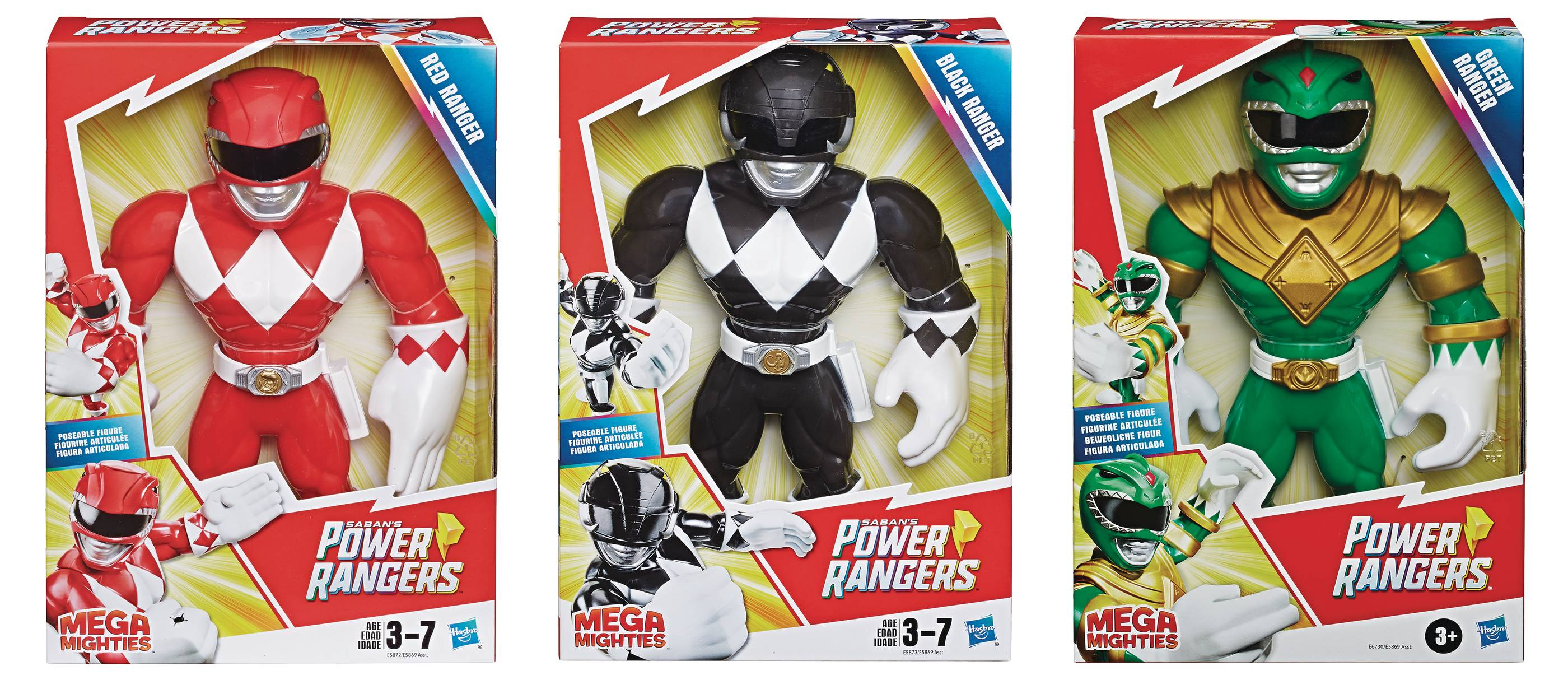 POWER RANGERS PSH MEGA MIGHTIES AF ASST 202002