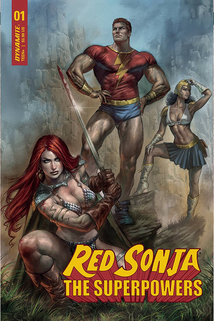RED SONJA THE SUPERPOWERS #1 CVR A PARRILLO