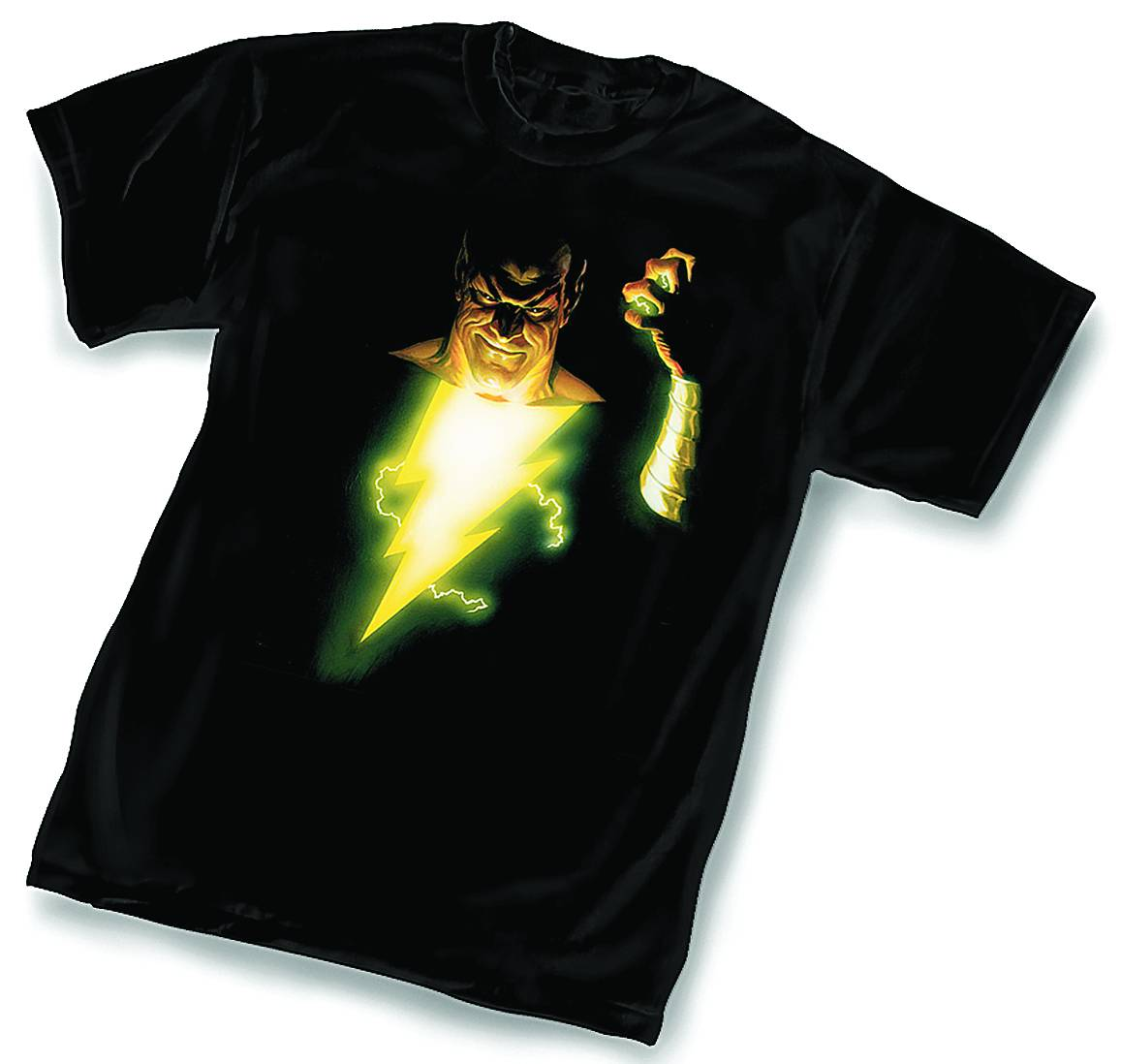 BLACK ADAM FOE BLK T/S SM