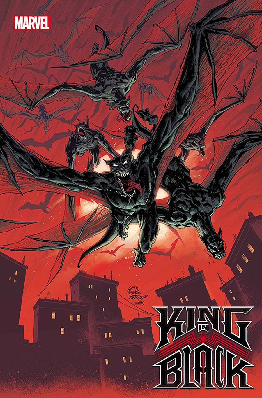 DF KING IN BLACK #1 DARKNESS REIGNS VAR STEGMAN SGN