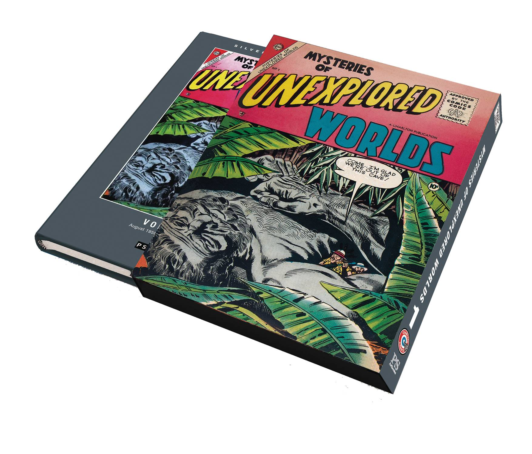 SILVER AGE MYSTERIES UNEXPLORED WORLDS SLIPCASE VOL 01