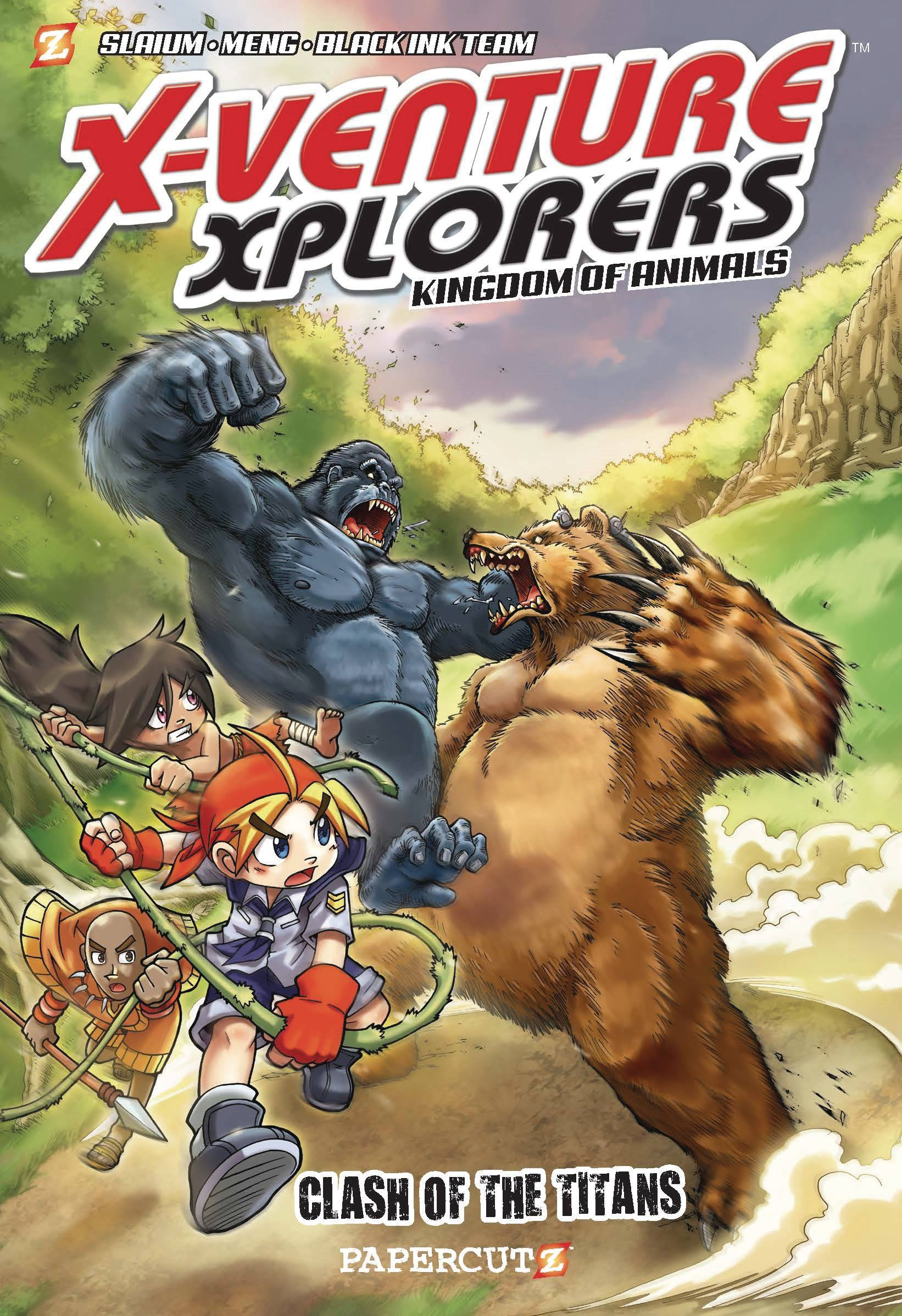 X-VENTURE XPLORERS SC VOL 02 CLASH OF TITANS