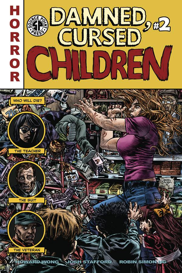 DAMNED CURSED CHILDREN #2 (OF 5) (MR)