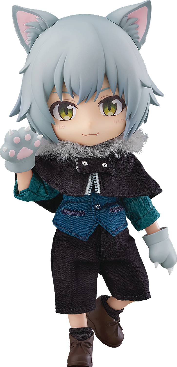 NENDOROID DOLL LITTLE RED RIDING HOOD WOLF ASH AF
