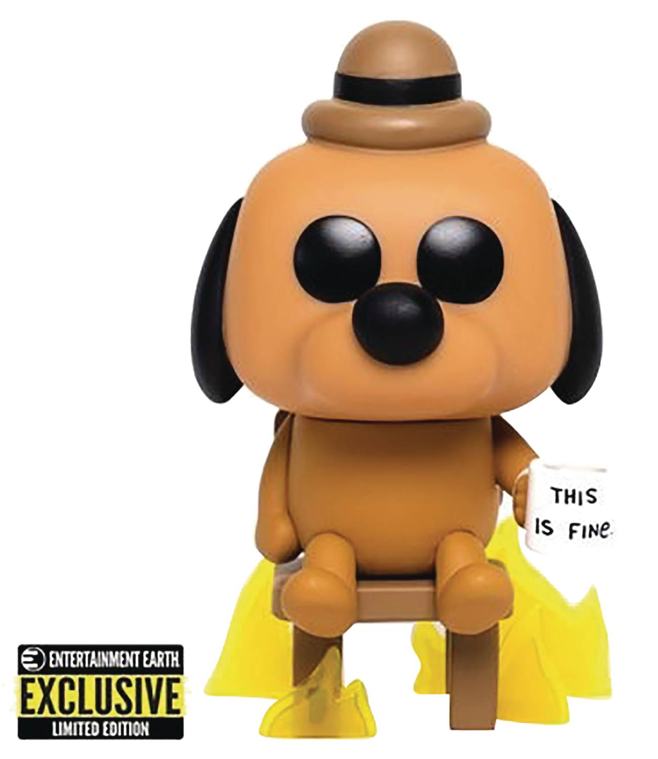 POP THIS IS FINE DOG POP VINYL FIG