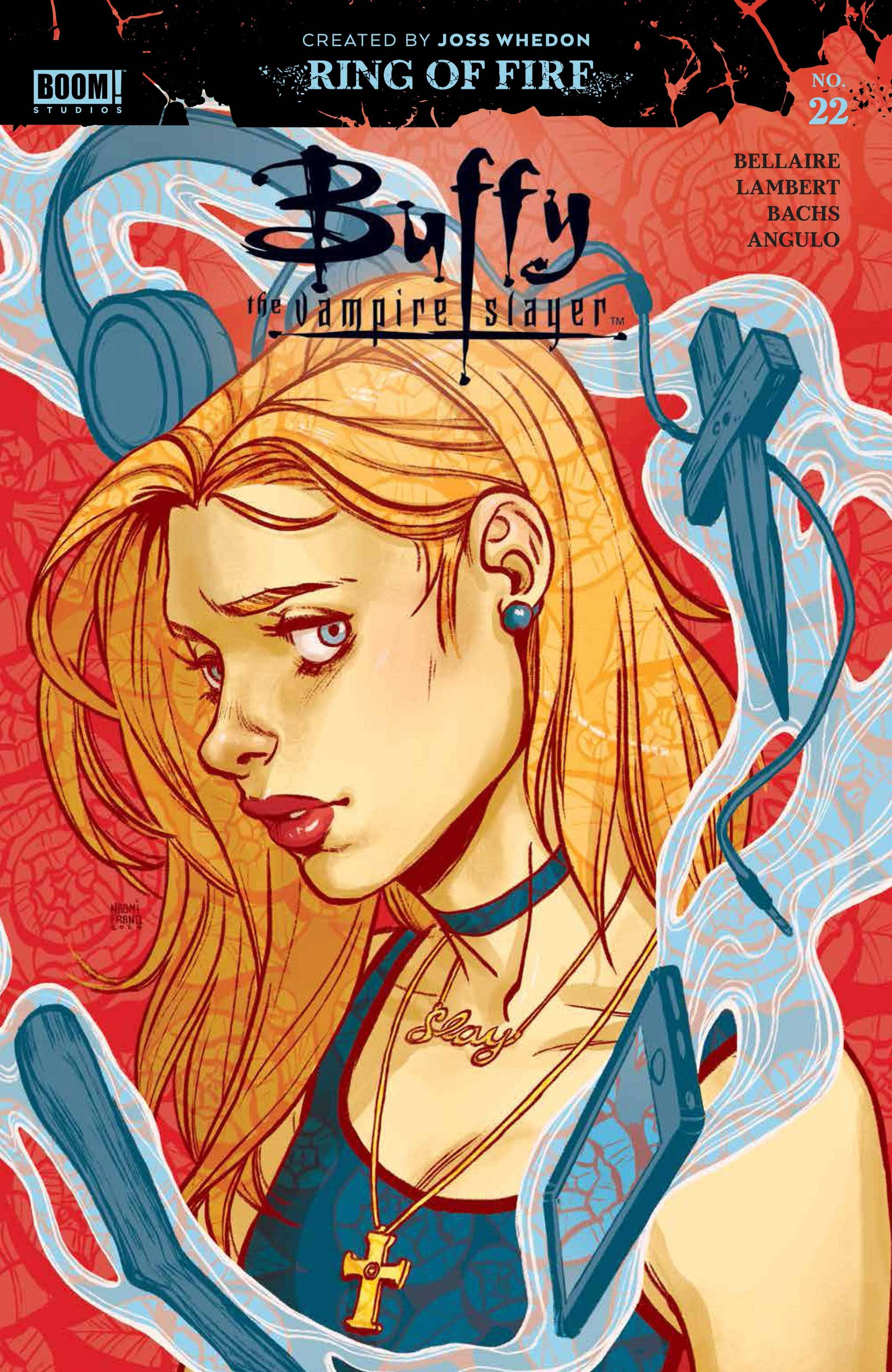 BUFFY THE VAMPIRE SLAYER #22 NAOMI FRANQUIZ VAR ED