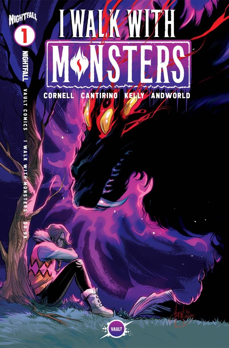 I WALK WITH MONSTERS #1 CVR D 15 COPY INCV ANDOLFO (MR)