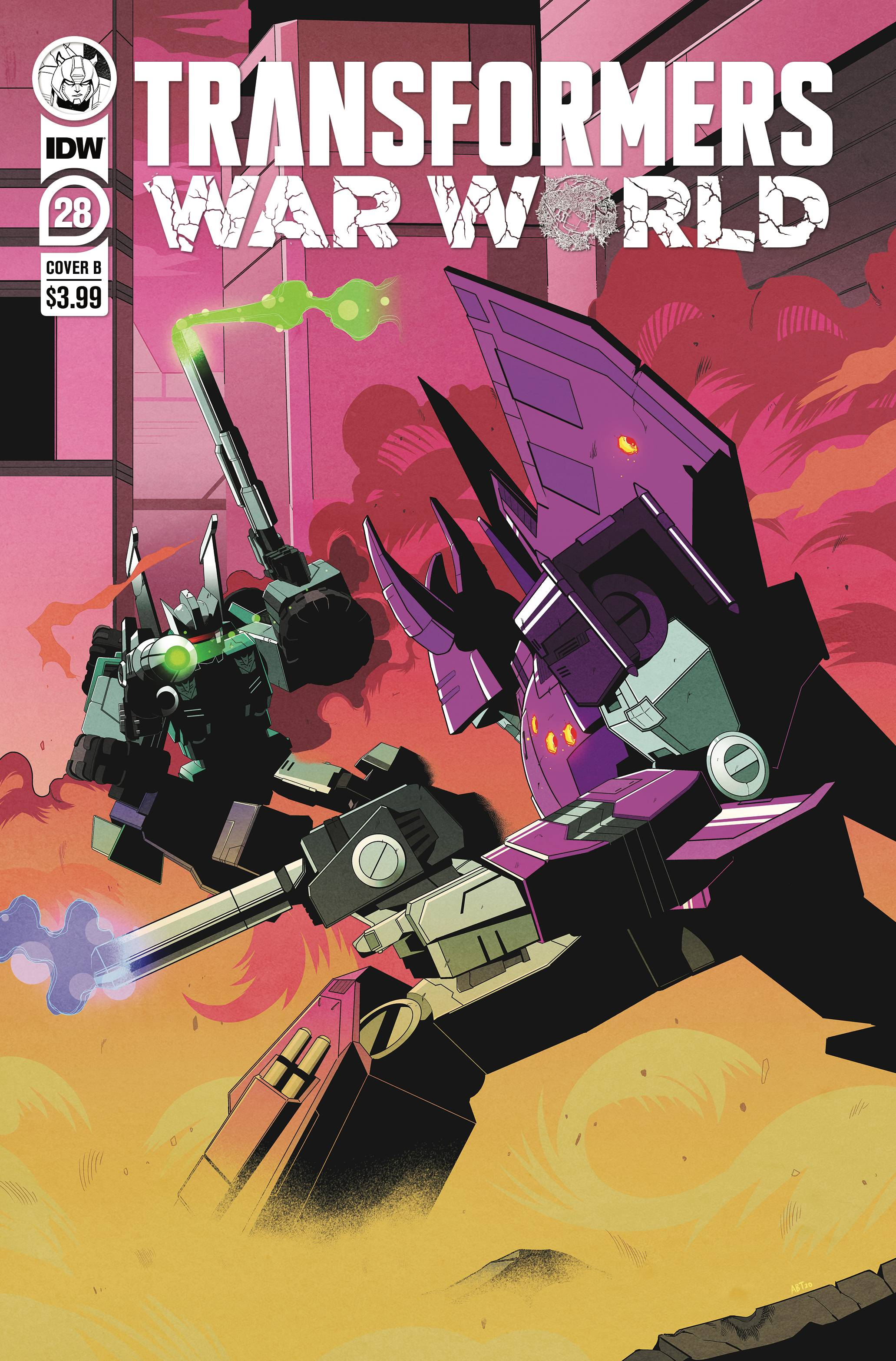 TRANSFORMERS #28 CVR B  ADAM BRYCE THOMAS