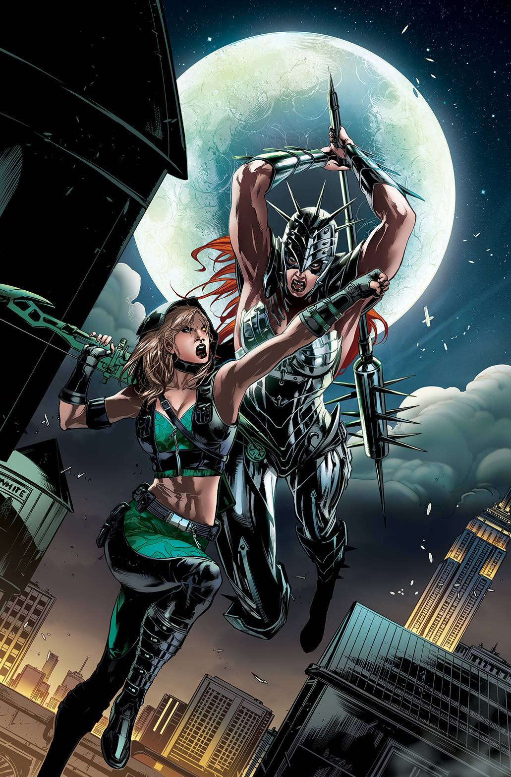 ROBYN HOOD IRON MAIDEN #2 (OF 2) CVR B WHITE