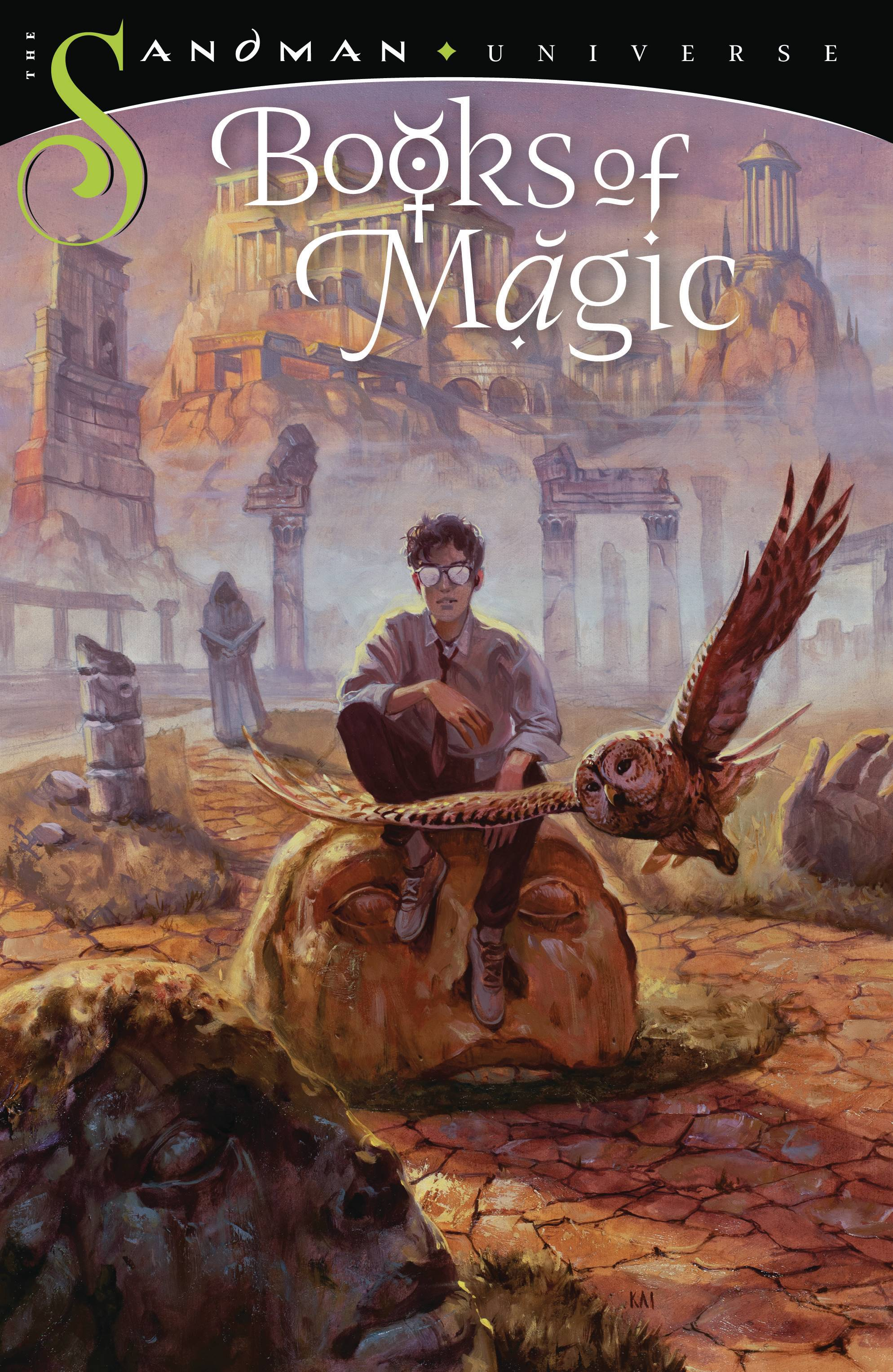 BOOKS OF MAGIC TP VOL 03 DWELLING IN POSSIBILITY (MR)