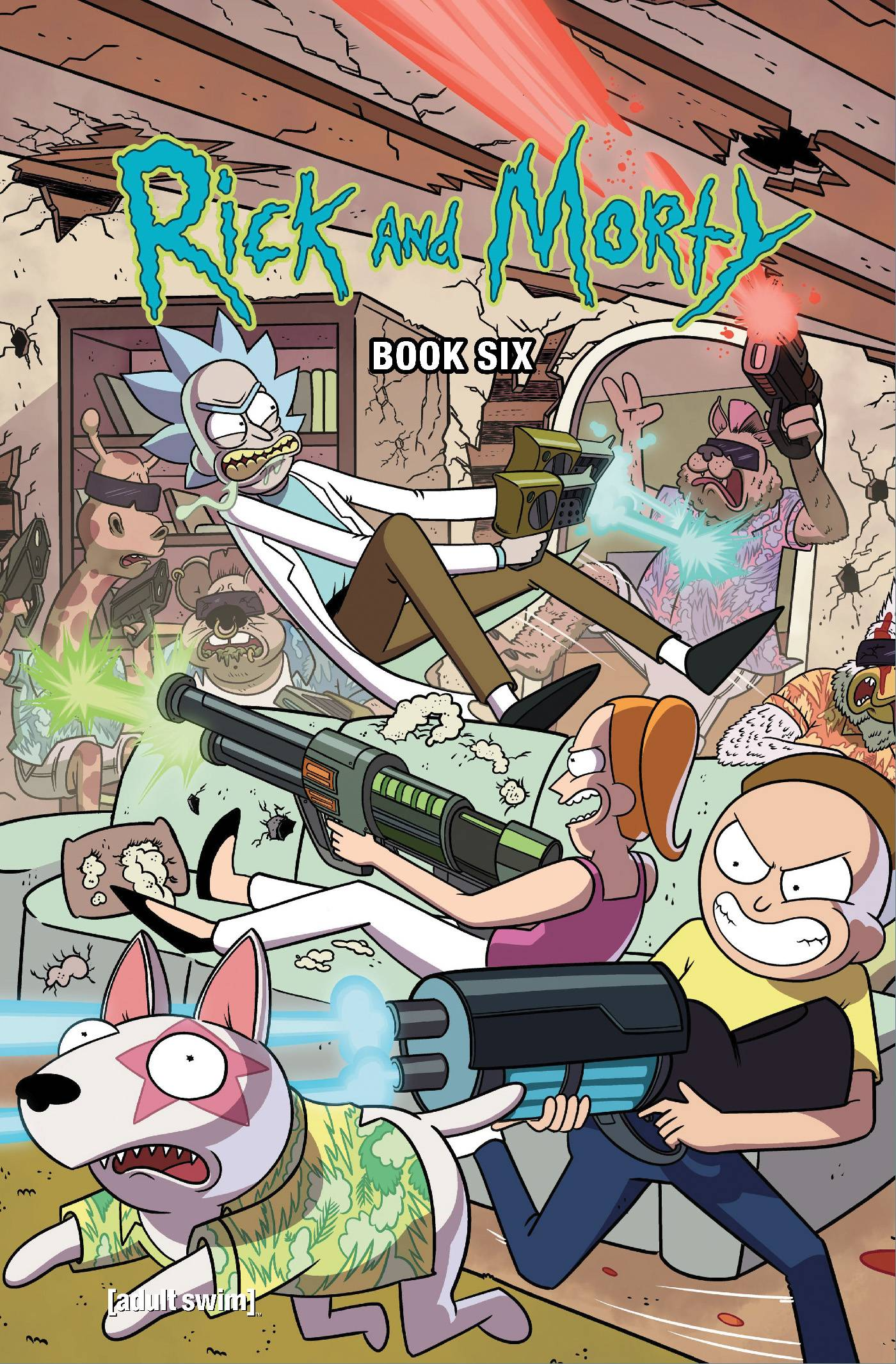 RICK AND MORTY HC BOOK 06 DLX ED (MR)