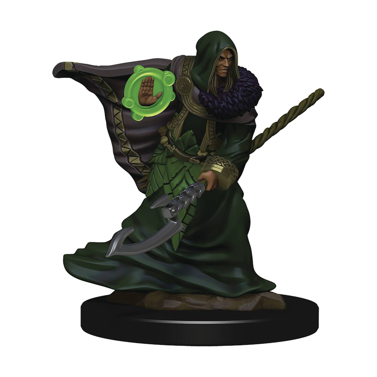 D&D ICONS REALMS PREMIUM FIG ELF DRUID MALE