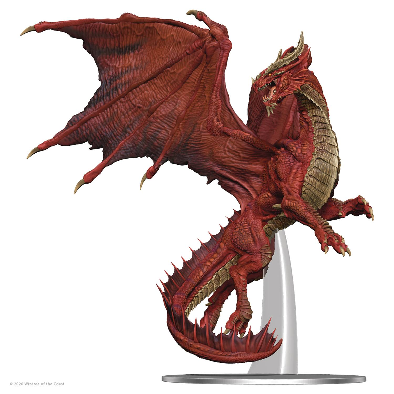D&D ICONS REALMS ADULT RED DRAGON PREMIUM FIGURE