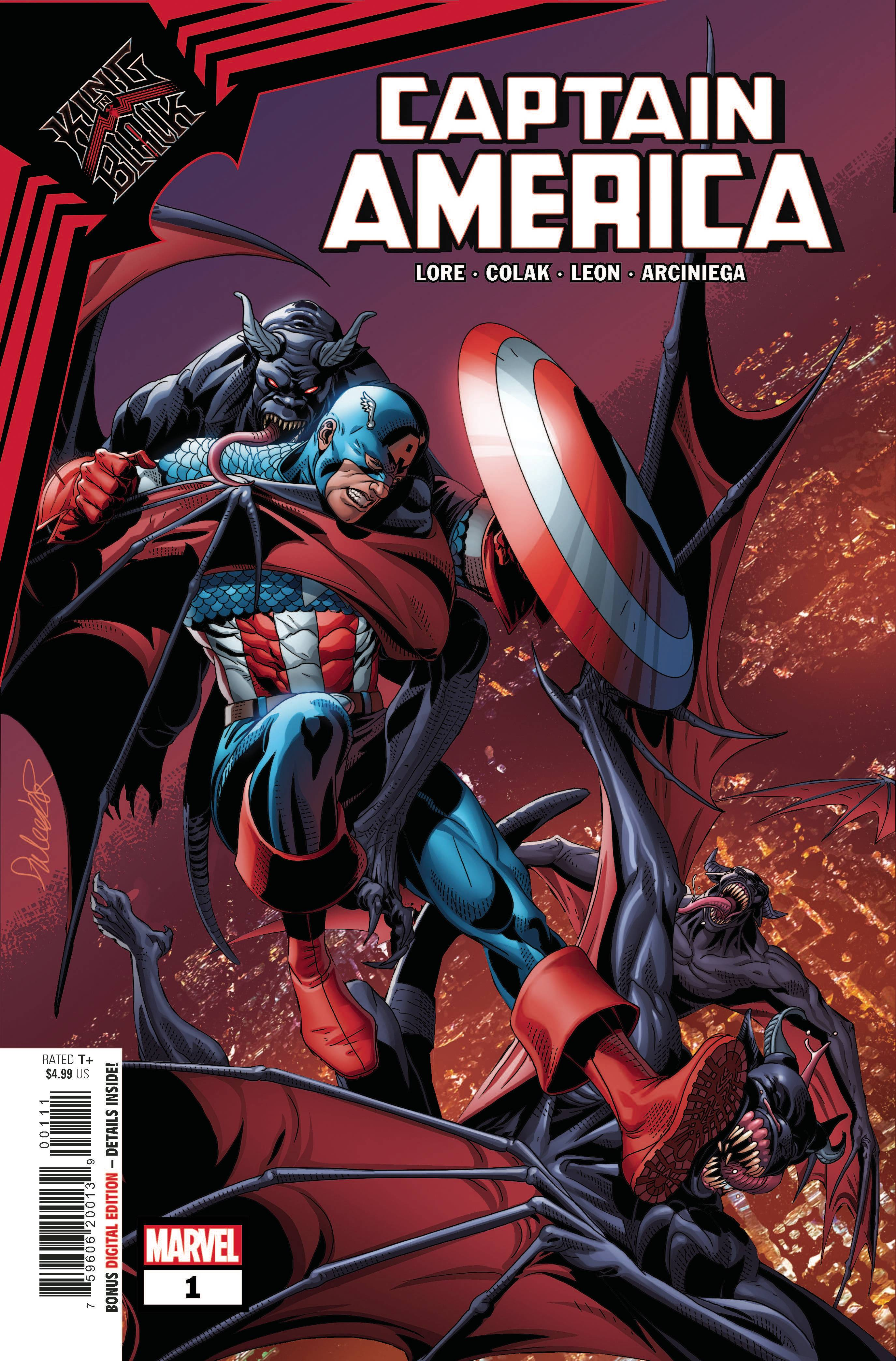 KING IN BLACK CAPTAIN AMERICA #1
