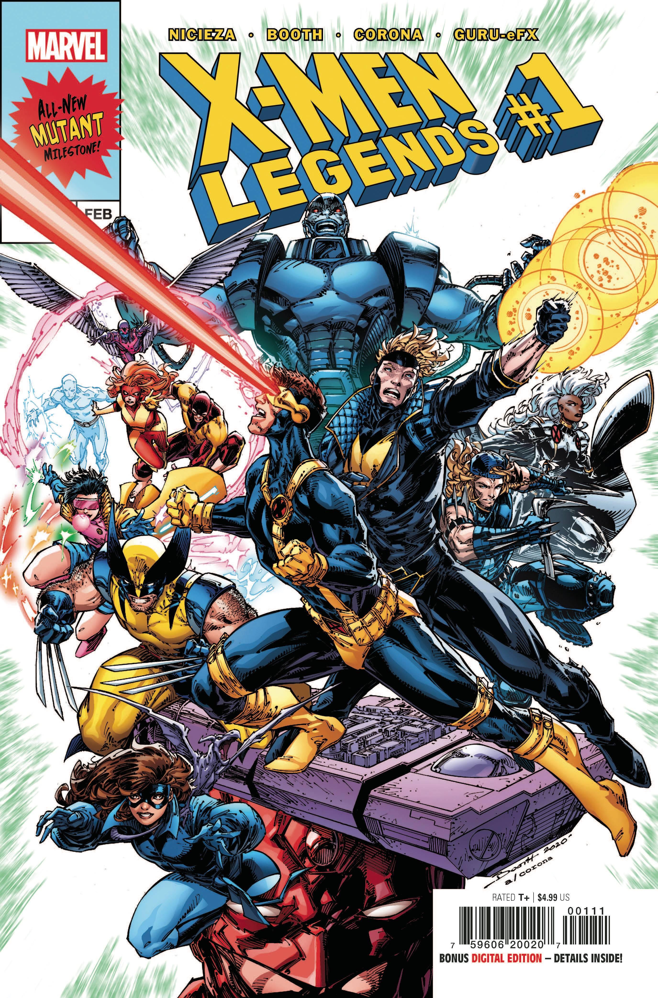 X-MEN LEGENDS #1
