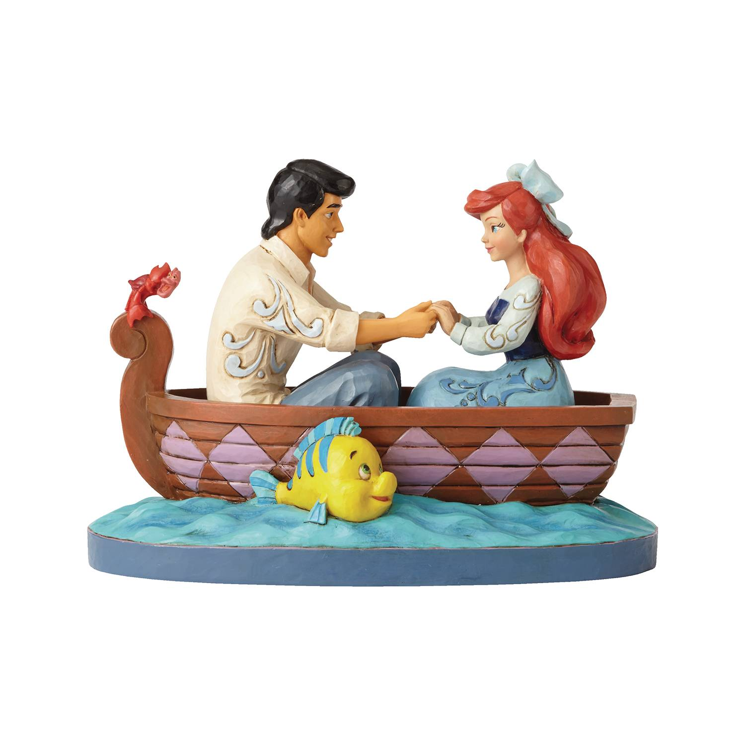 DISNEY LITTLE MERMAID ARIEL & PRINCE 6.5IN FIGURE