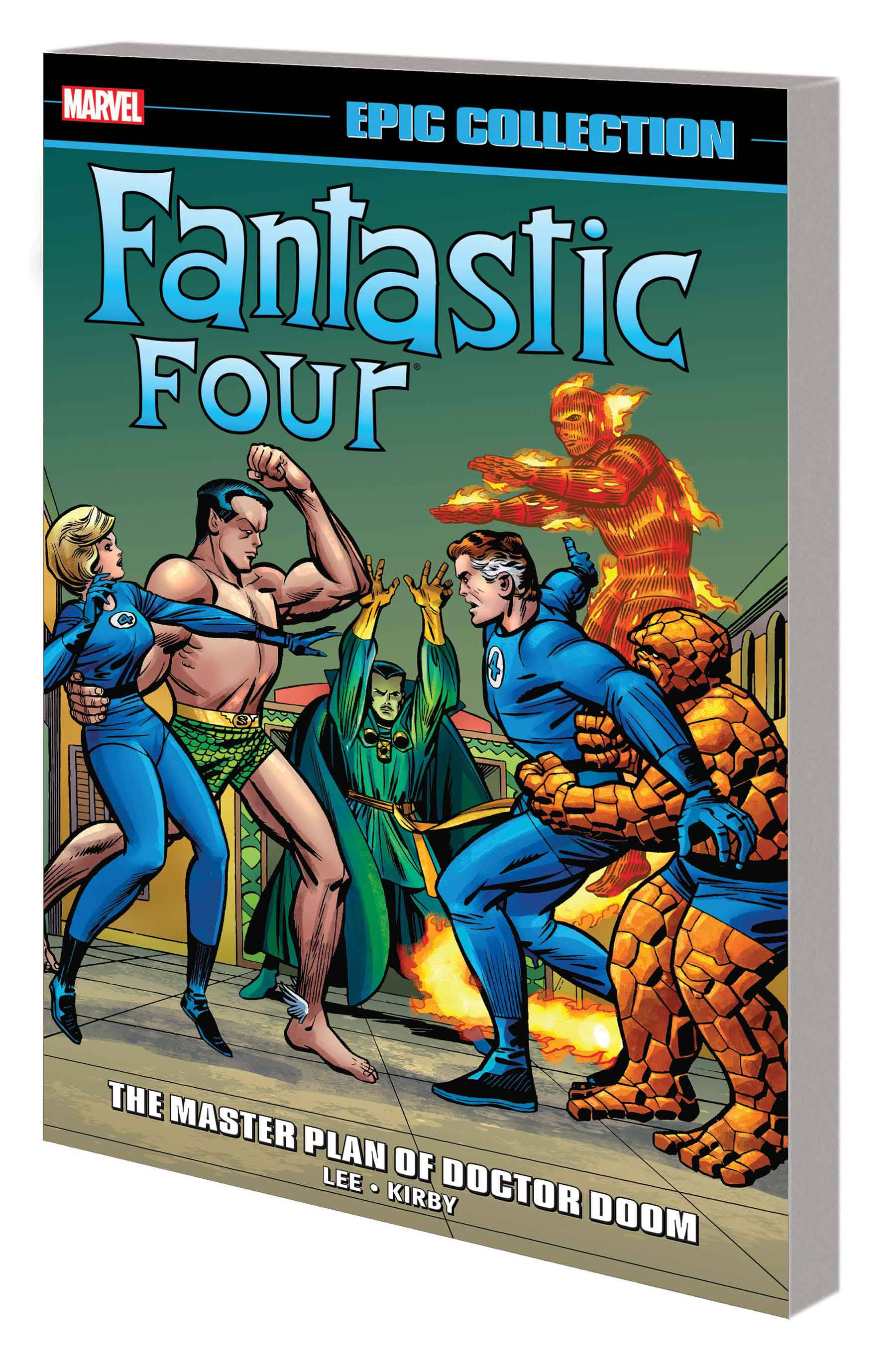 FANTASTIC FOUR EPIC COLL TP MASTER PLAN OF DOOM NEW PTG