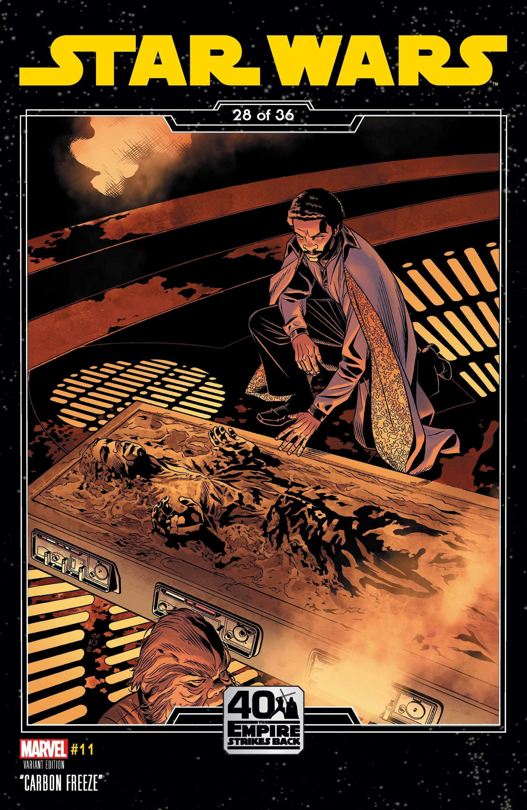 STAR WARS #11 SPROUSE EMPIRE STRIKES BACK VAR