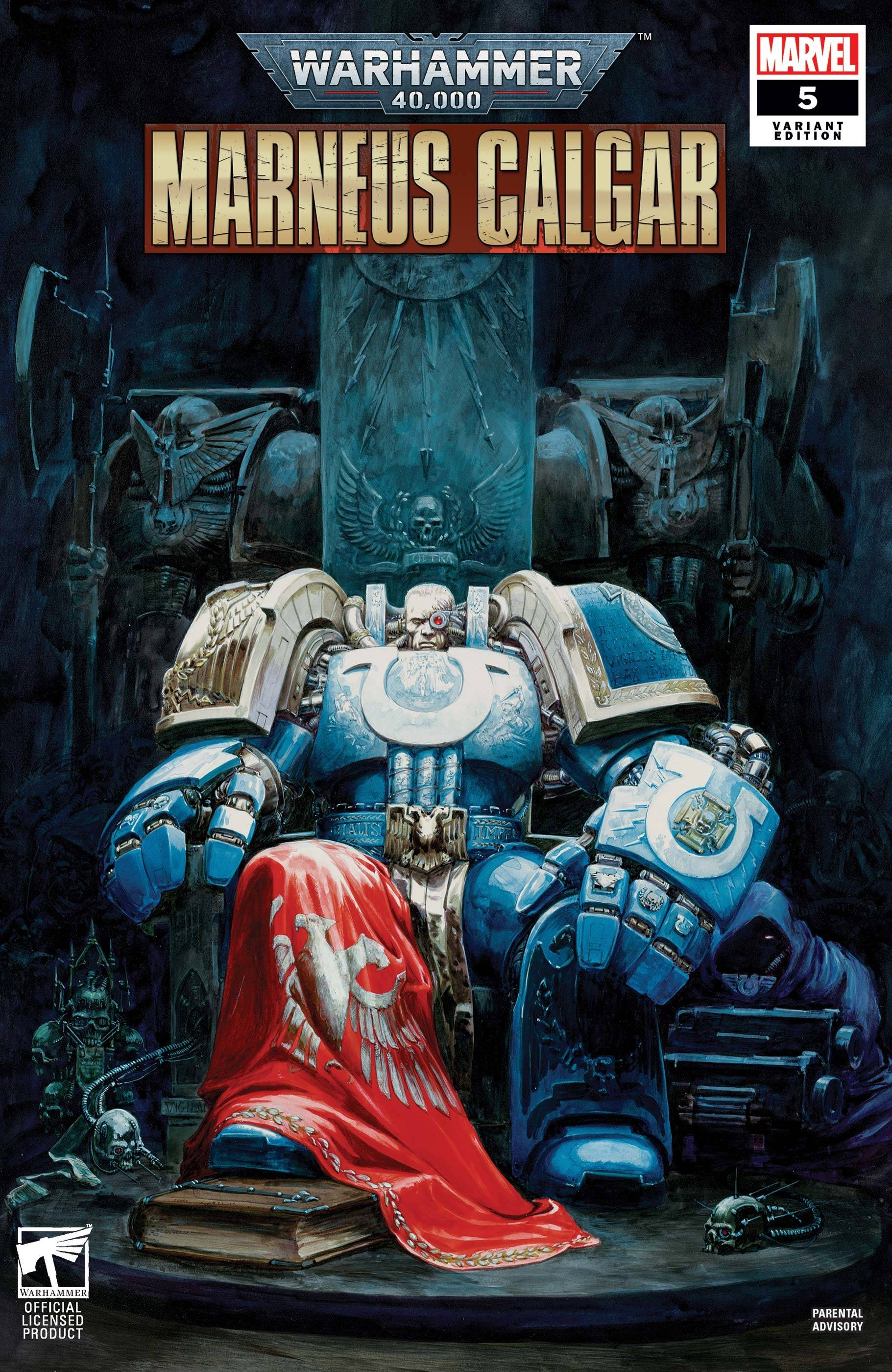 WARHAMMER 40K MARNEUS CALGAR #5 (OF 5) GAMES WORKSHOP VAR