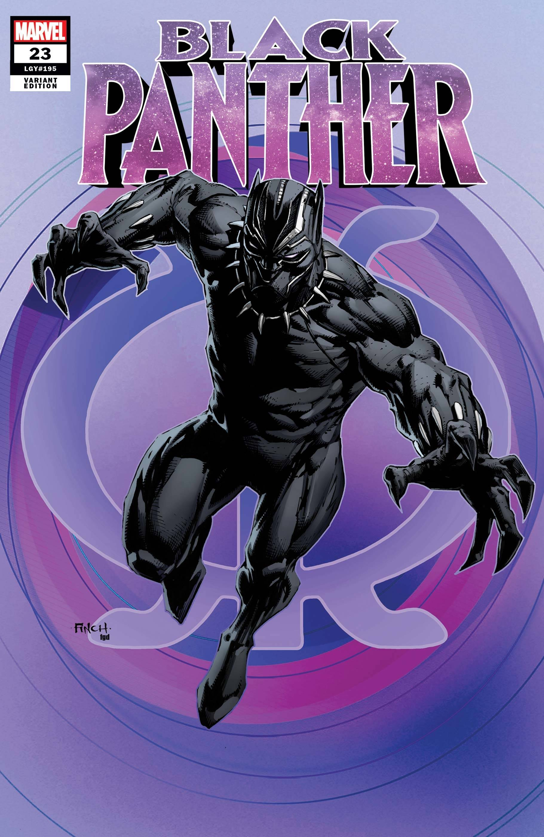 BLACK PANTHER #23 FINCH VAR