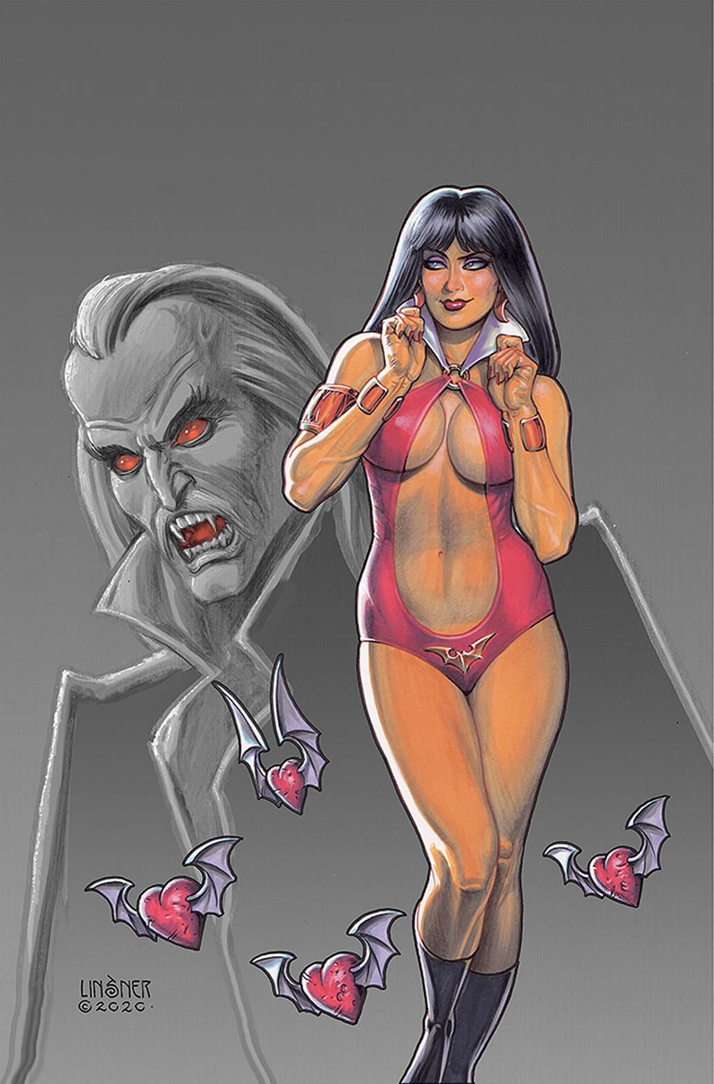 VAMPIRELLA VALENTINES SP ONE SHOT LINSNER LTD VIRGIN CVR