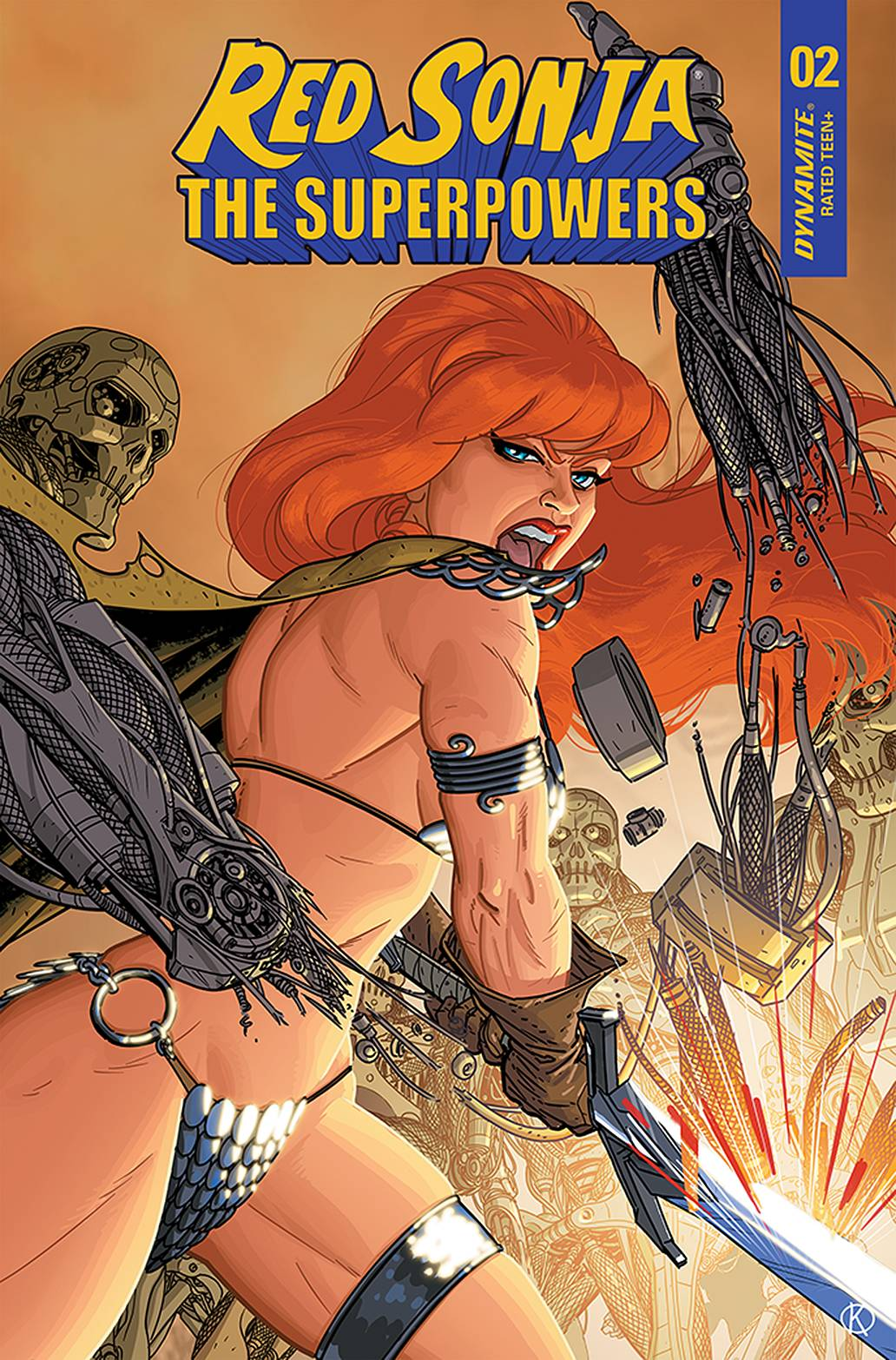 RED SONJA THE SUPERPOWERS #2 15 COPY KANO INCV