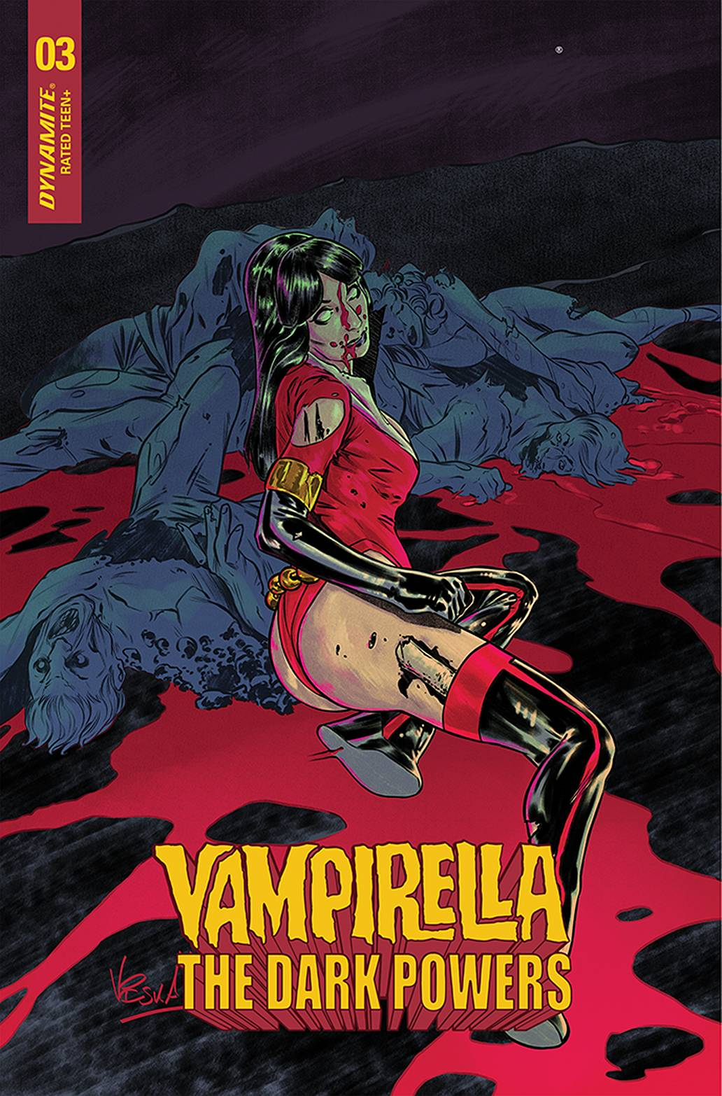 VAMPIRELLA DARK POWERS #3 15 COPY FEDERICI INCV