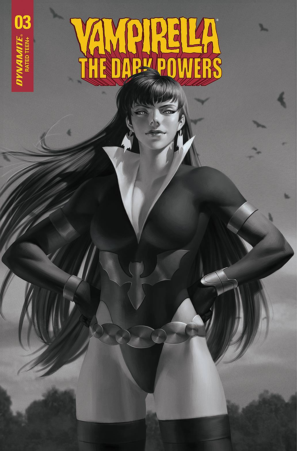 VAMPIRELLA DARK POWERS #3 30 COPY YOON B&W INCV