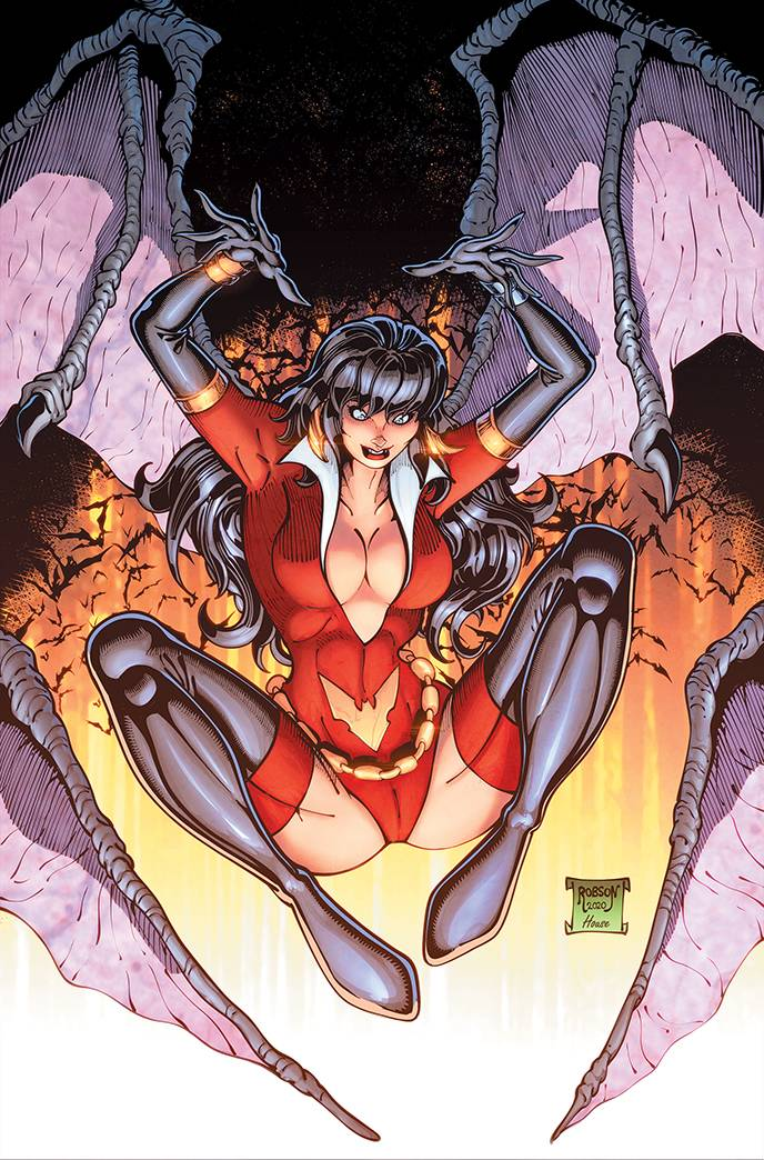 VAMPIRELLA DARK POWERS #3 ROBSON LTD VIRGIN CVR