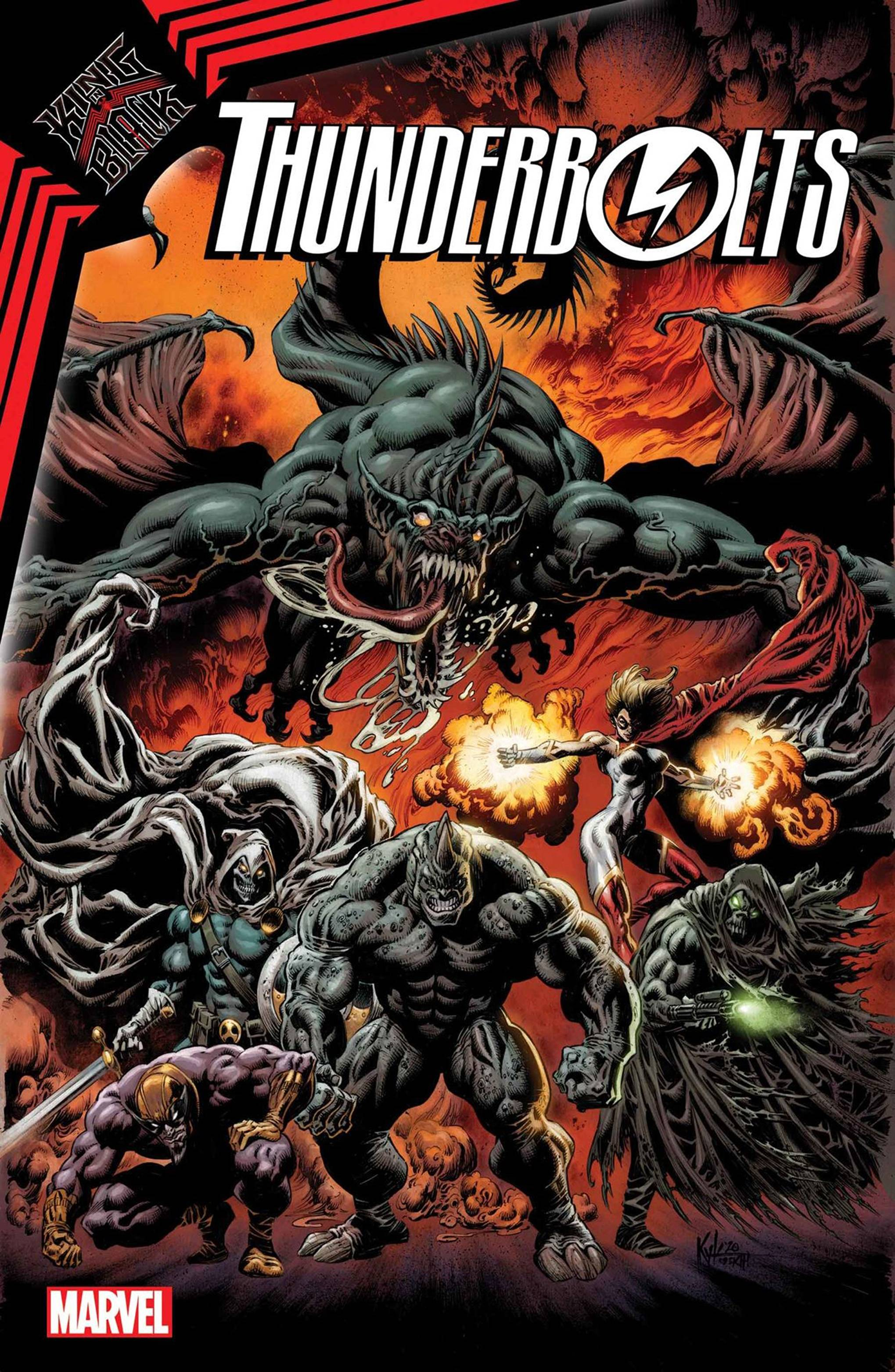 DF KING IN BLACK THUNDERBOLTS #1 ROSENBERG SGN