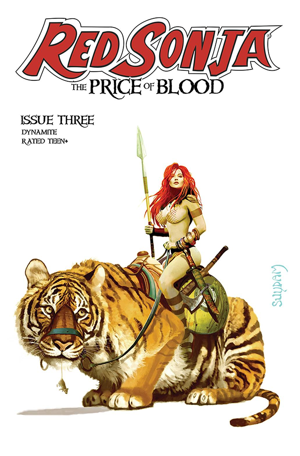 RED SONJA PRICE OF BLOOD #3 CVR A SUYDAM