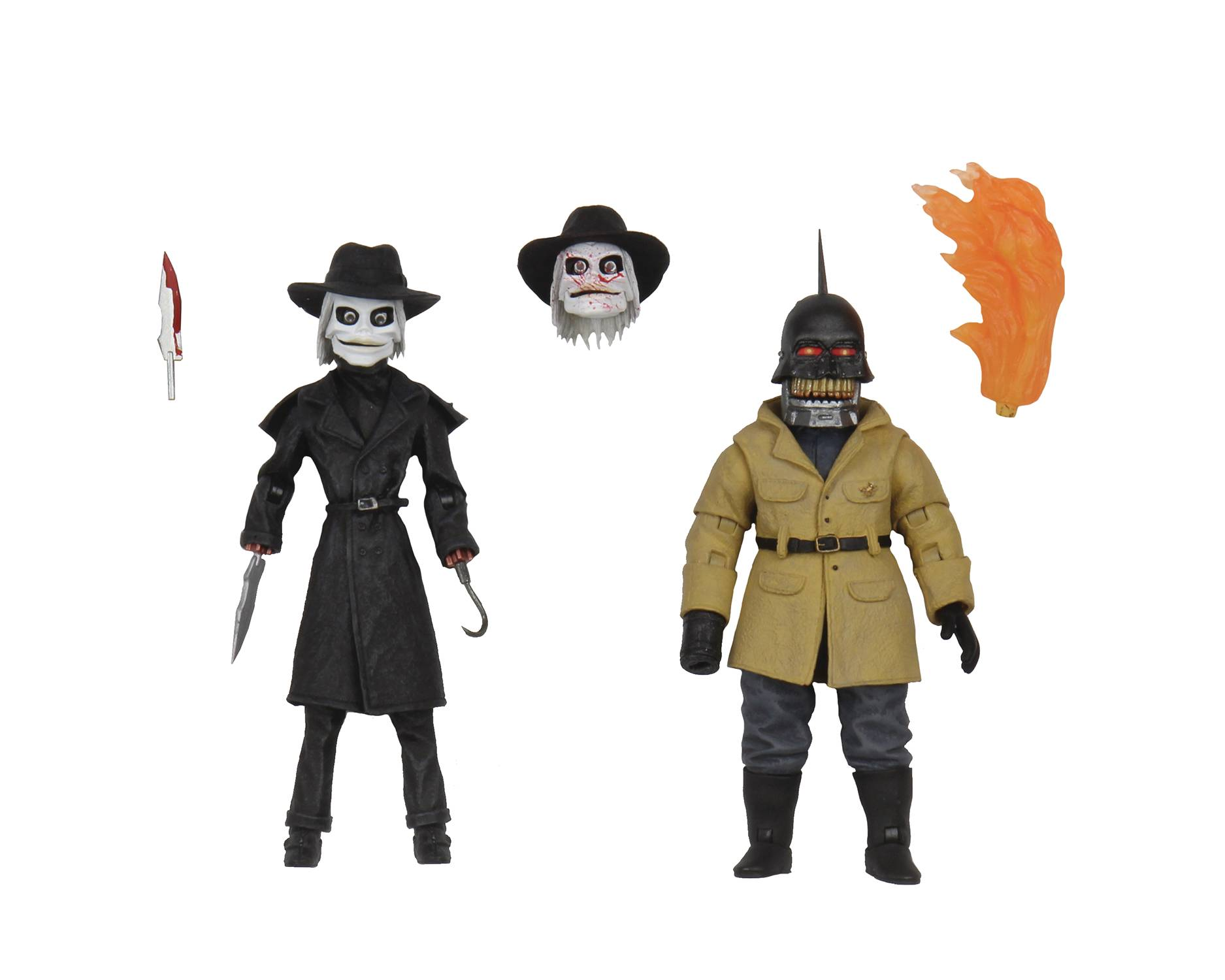 PUPPET MASTER BLADE & TORCH ULTIMATE 4IN AF 2PK