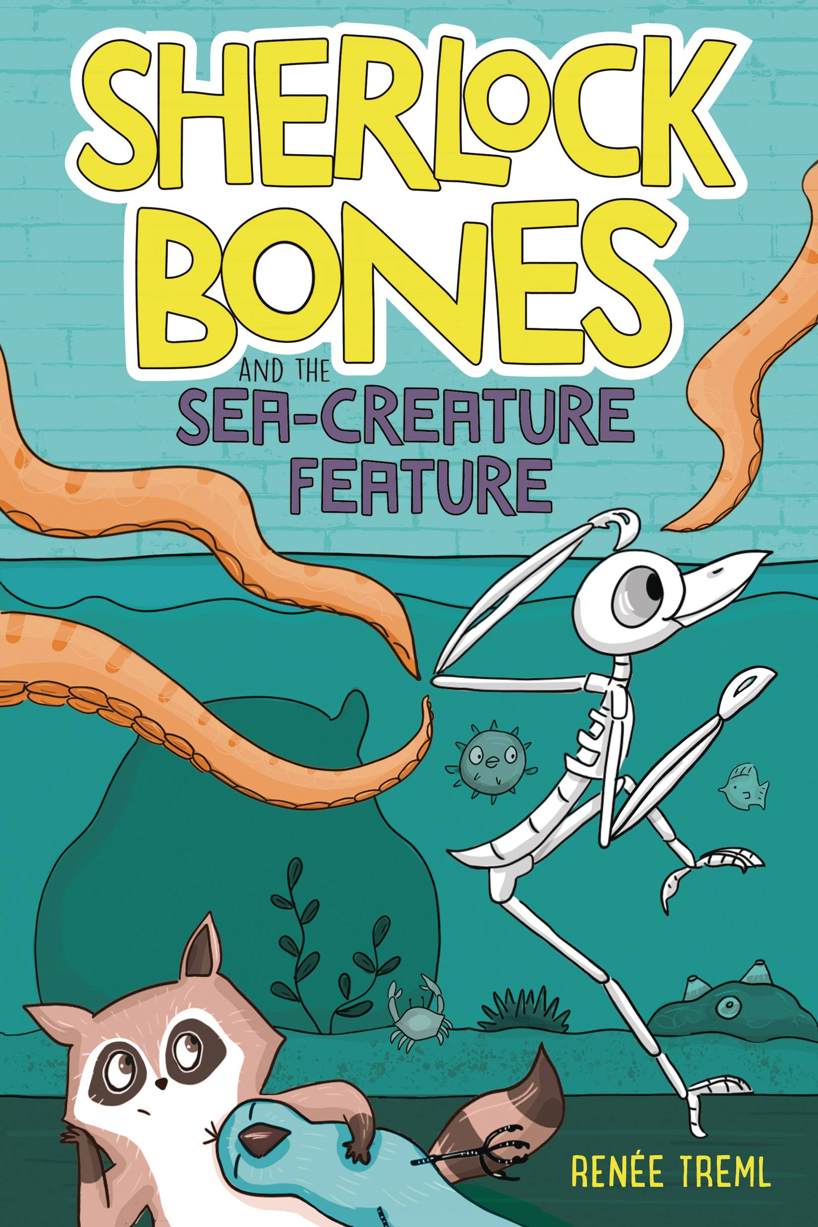 SHERLOCK BONES HC VOL 09 SEA CREATURE FEATURE