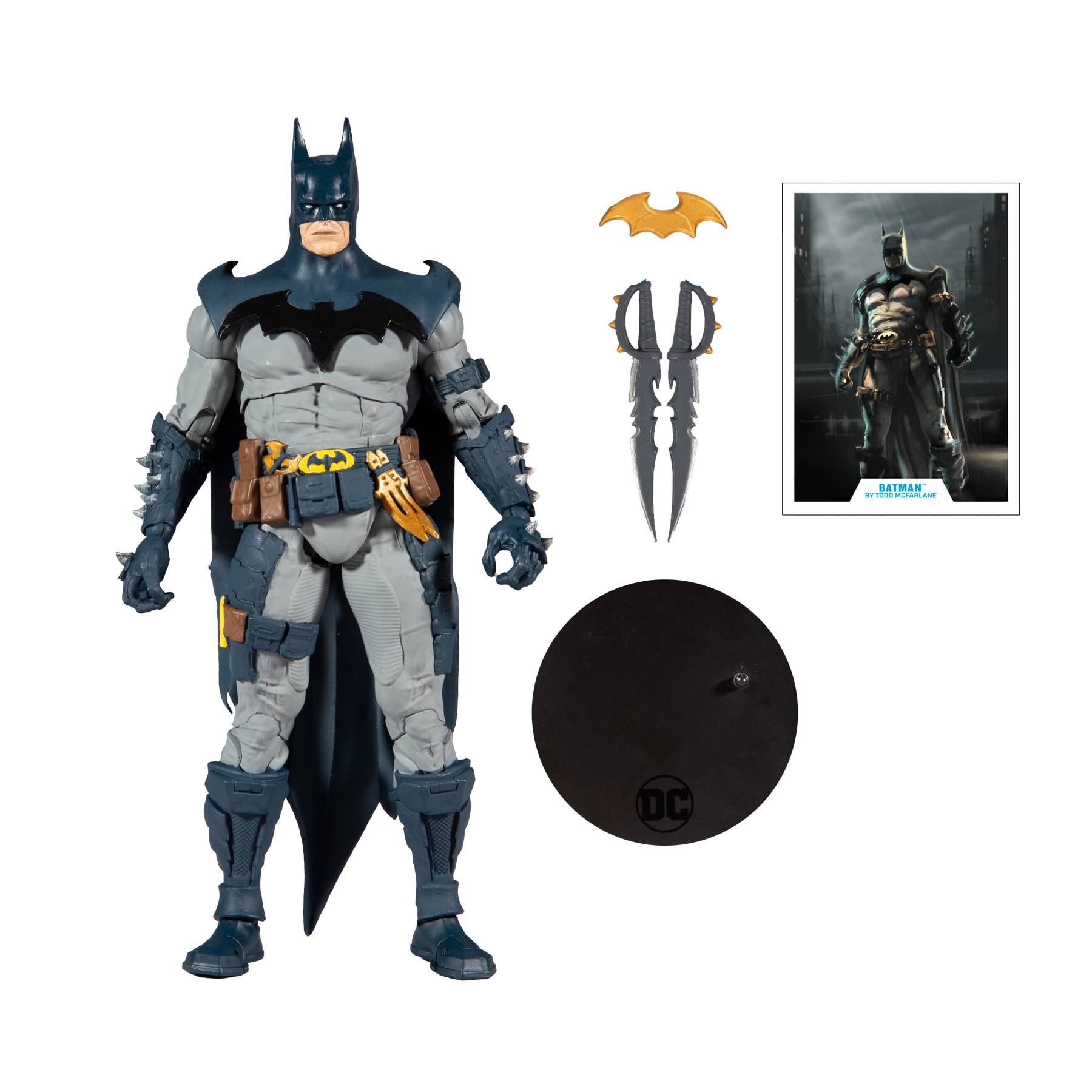 DC MULTIVERSE 7IN SCALE MCFARLANE BATMAN AF CS