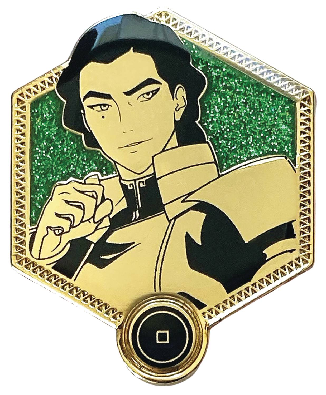 LEGEND OF KORRA GOLDEN KUVIRA PIN