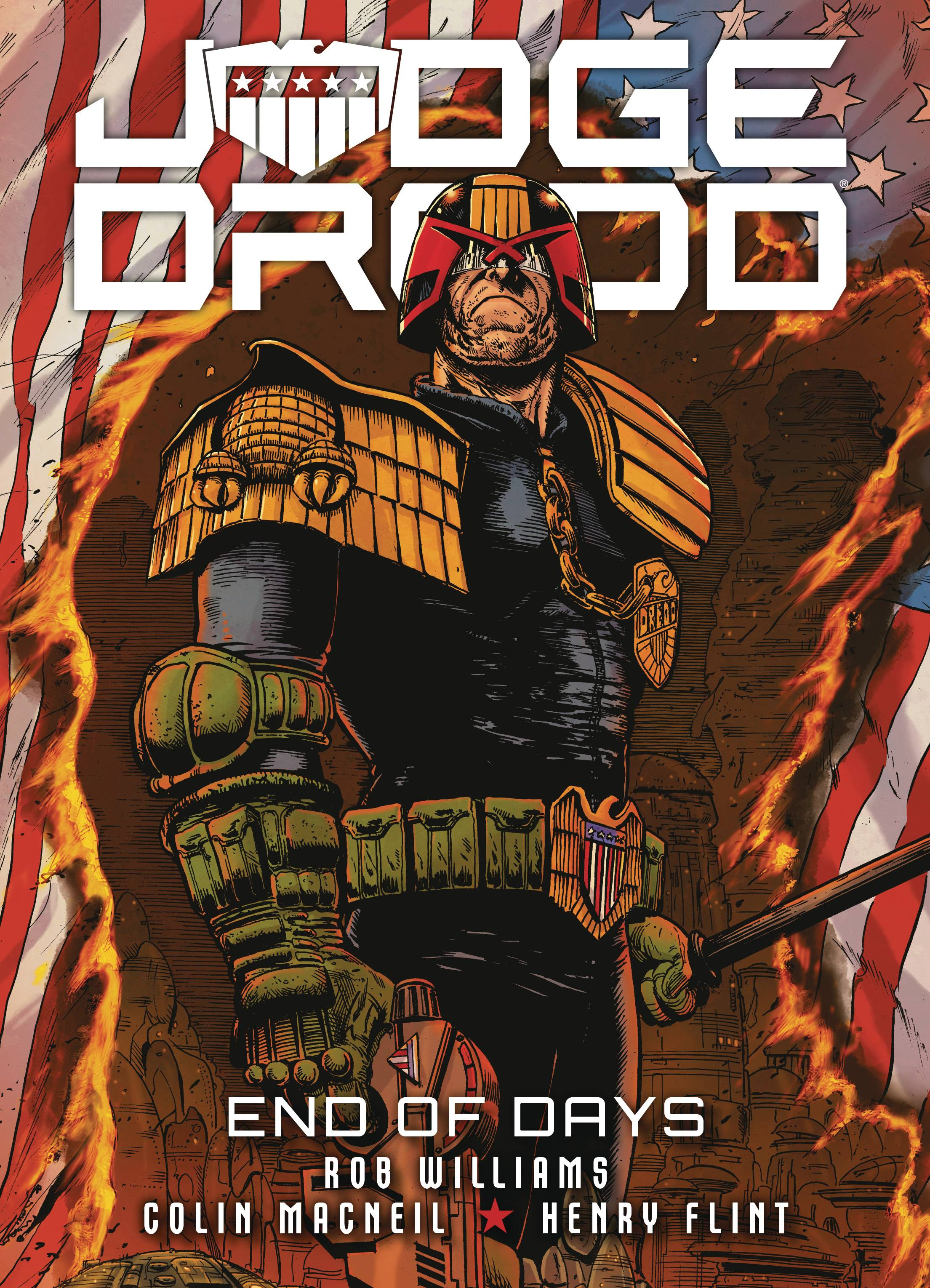 JUDGE DREDD END OF DAYS TP