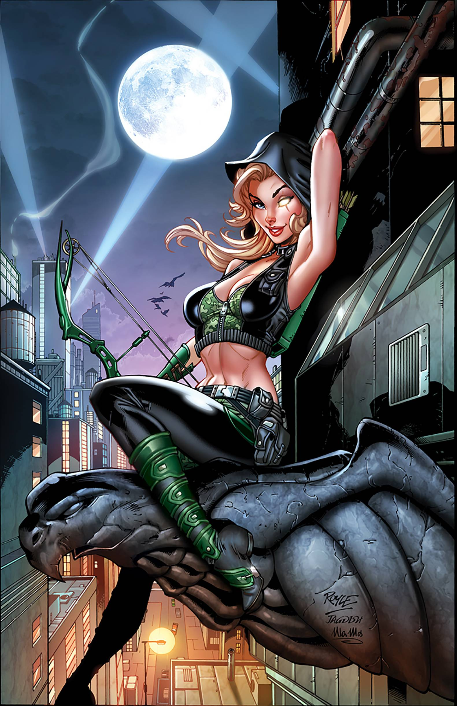 ROBYN HOOD CULT OF THE SPIDER ONE SHOT CVR C JOHN ROYLE