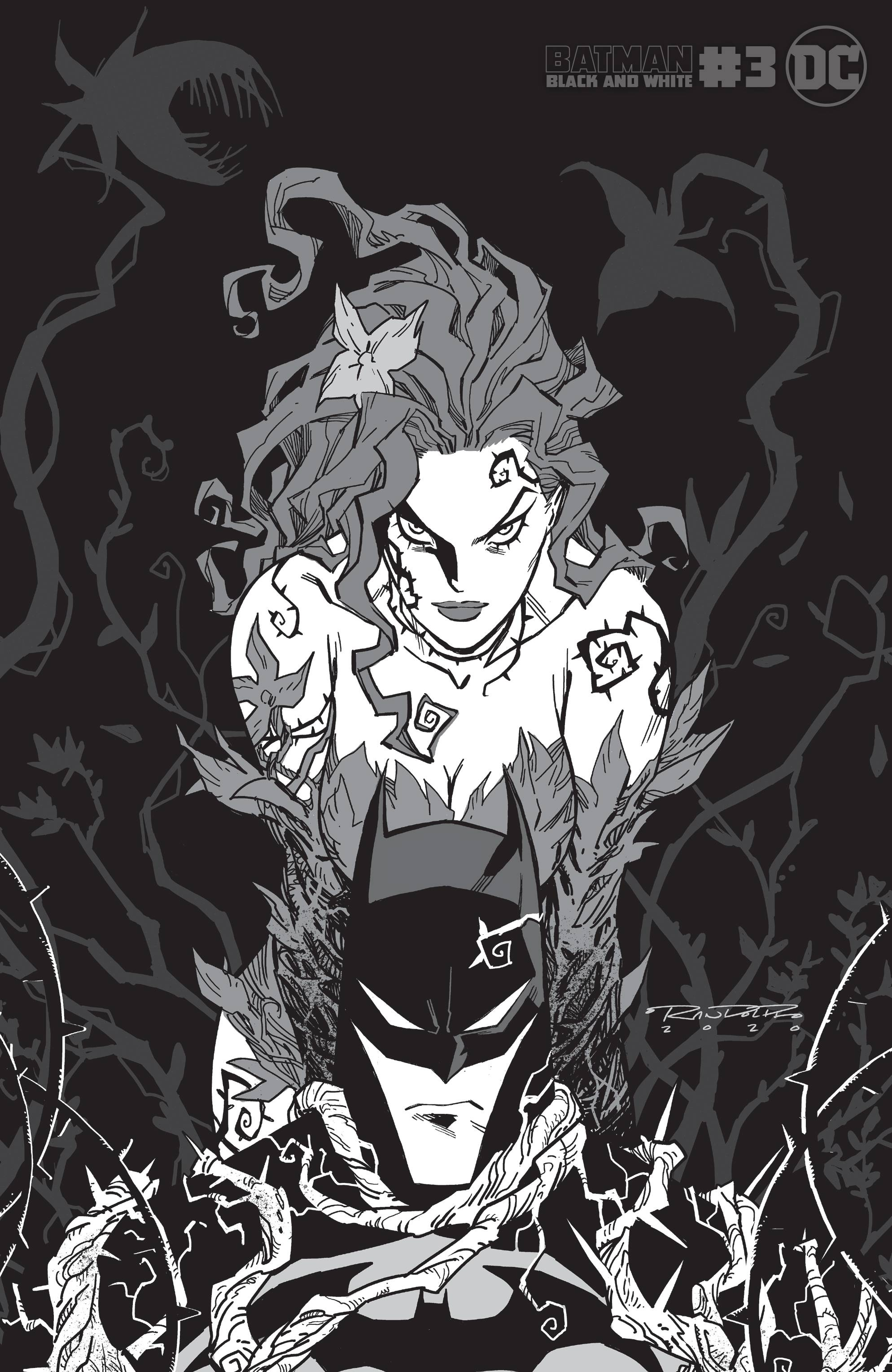 BATMAN BLACK & WHITE #3 (OF 6) POISON IVY VAR BY KHARY RANDO
