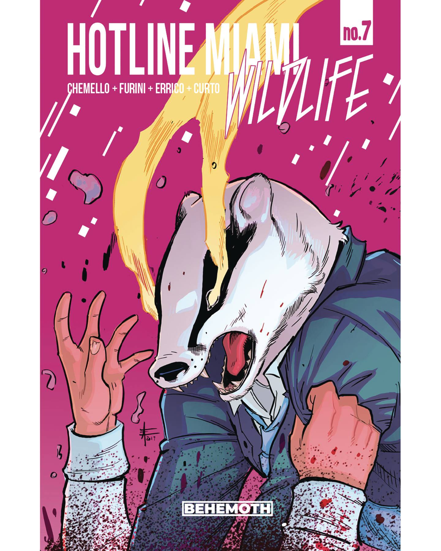 HOTLINE MIAMI WILDLIFE #7 (OF 8) (MR)