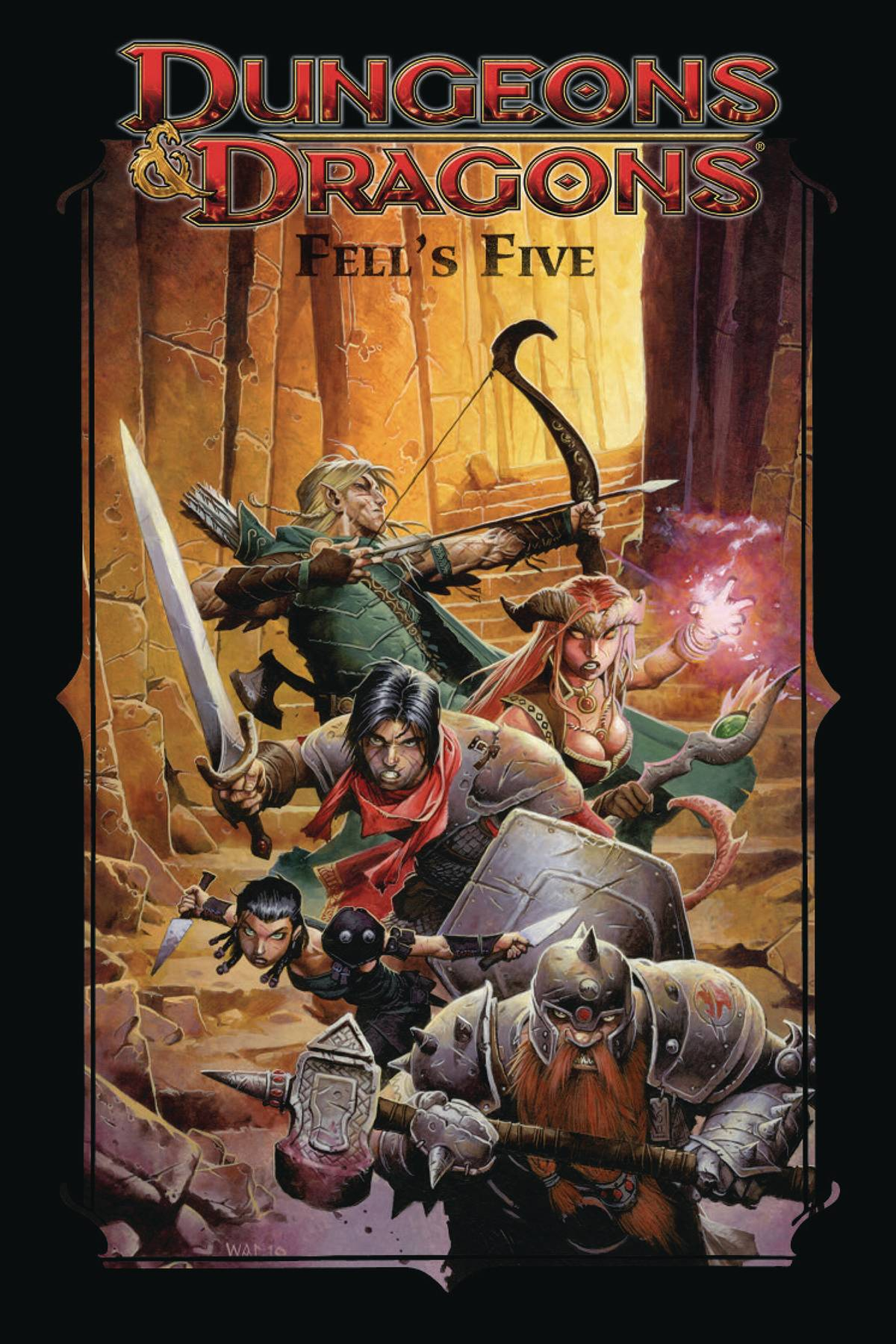 DUNGEONS & DRAGONS FELLS FIVE TP