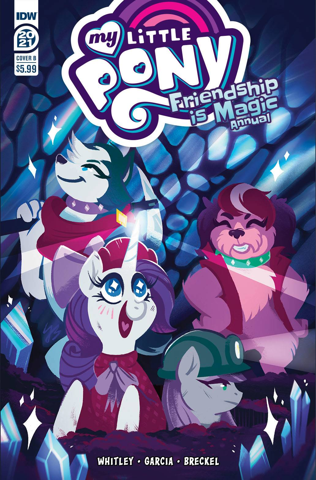 MY LITTLE PONY FRIENDSHIP IS MAGIC 2021 ANNUAL CVR B JUSTASU
