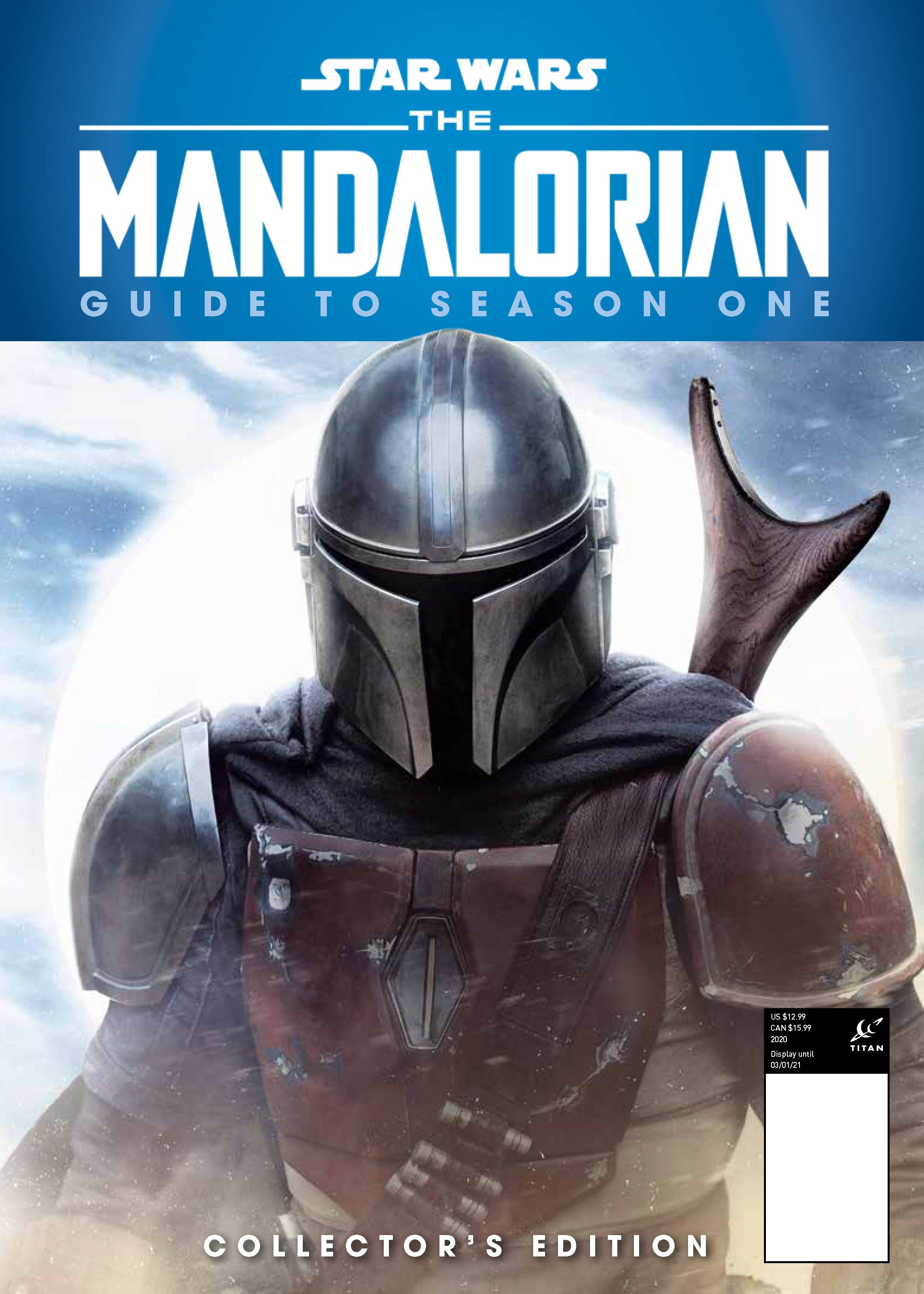 STAR WARS MANDALORIAN GUIDE TO SEASON 1 PX