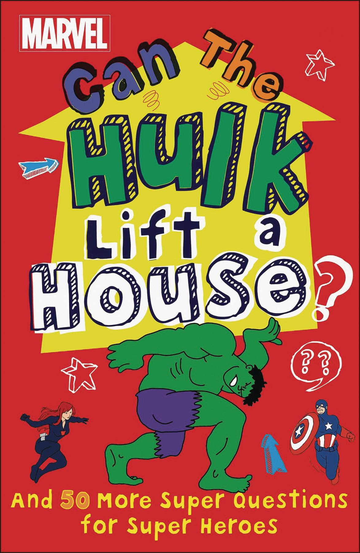 MARVEL CAN THE HULK LIFT A HOUSE HC