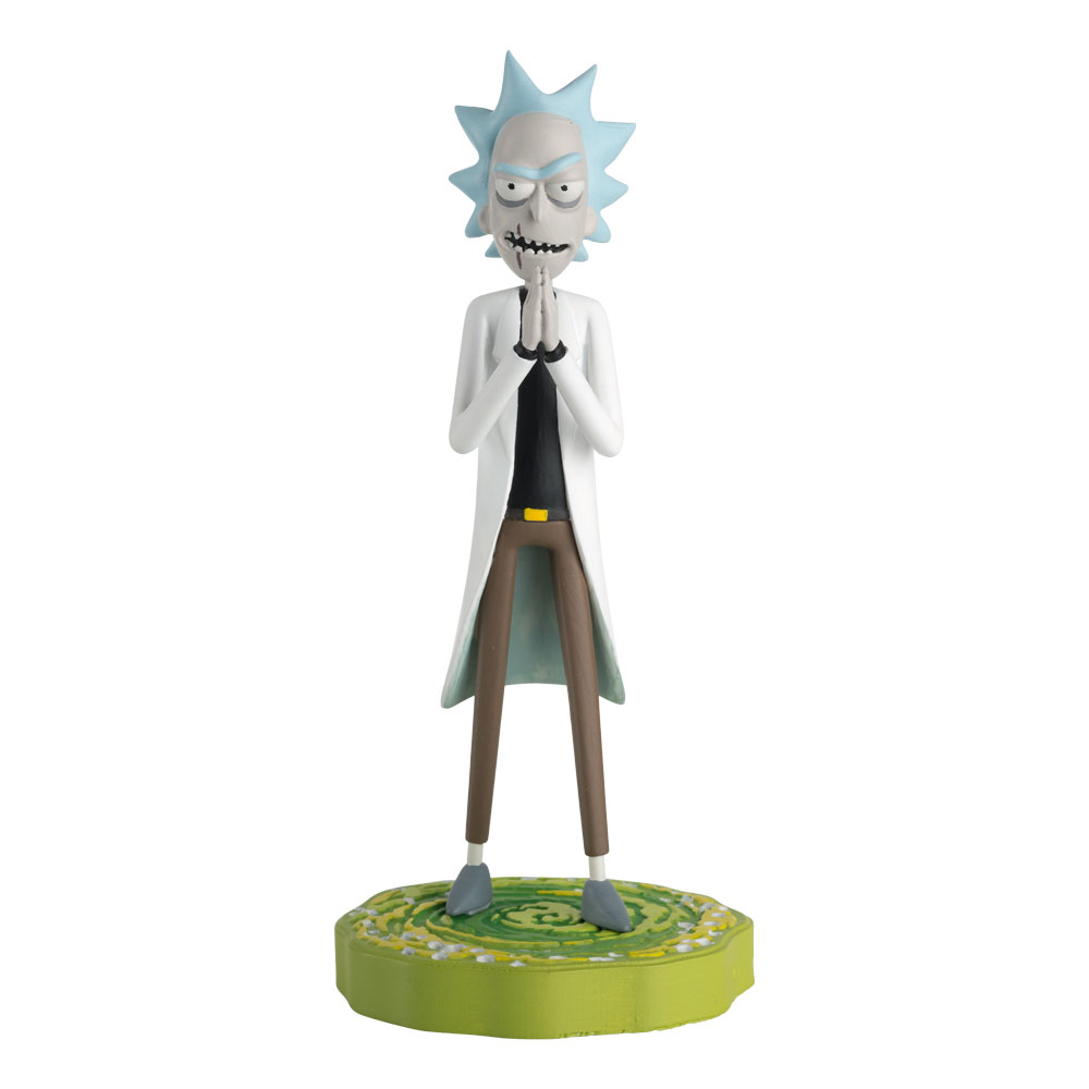 RICK AND MORTY FIGURINE COLLECTION #5 EVIL RICK
